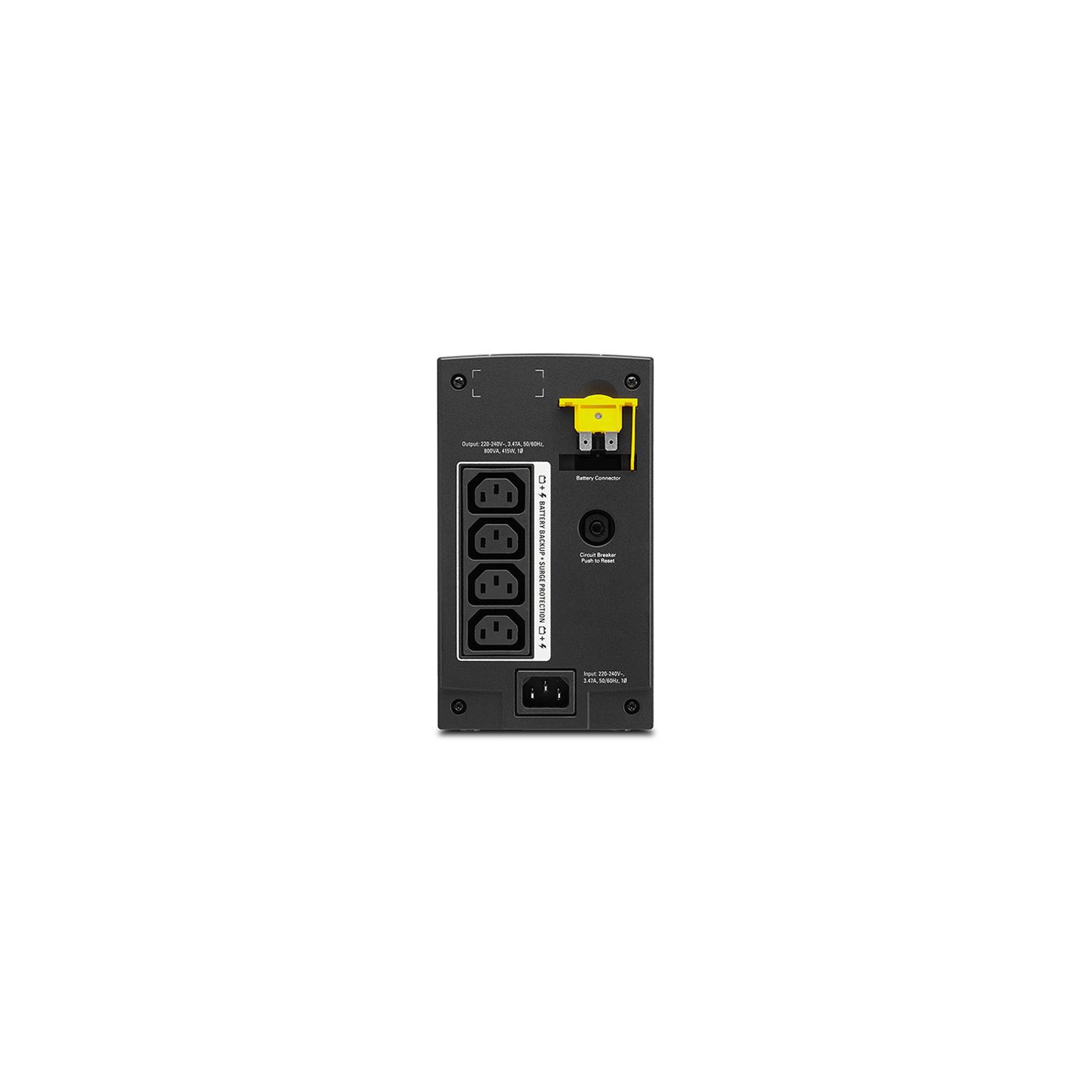 Источник бесперебойного питания APC Back-UPS 800VA, IEC (BX800LI) изображение 2
