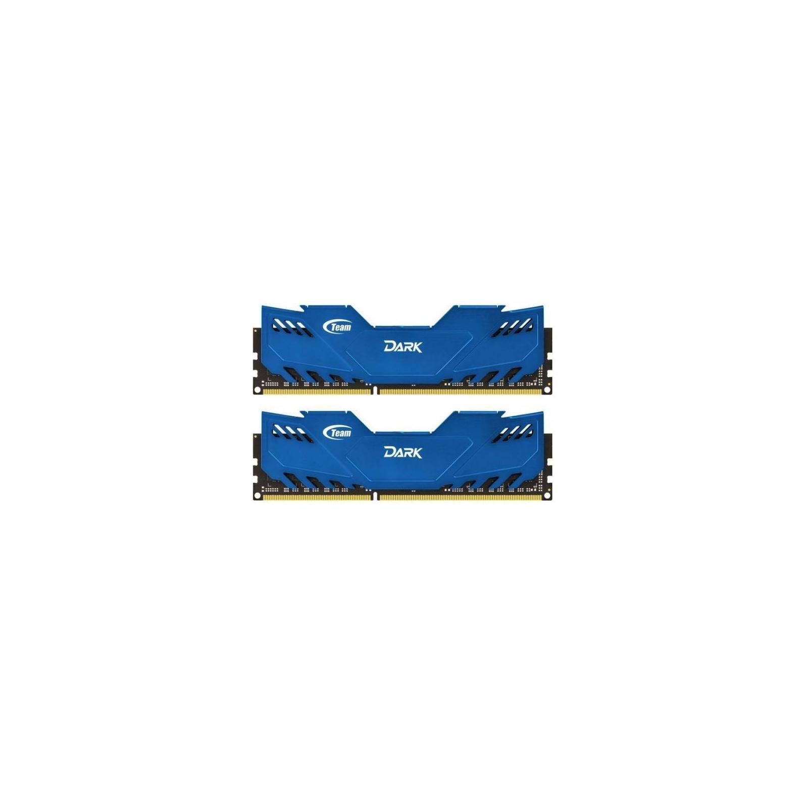 Модуль памяти для компьютера DDR4 16GB (2x8GB) 2666 MHz Dark Blue Team (TDBED416G2666HC15ADC01)