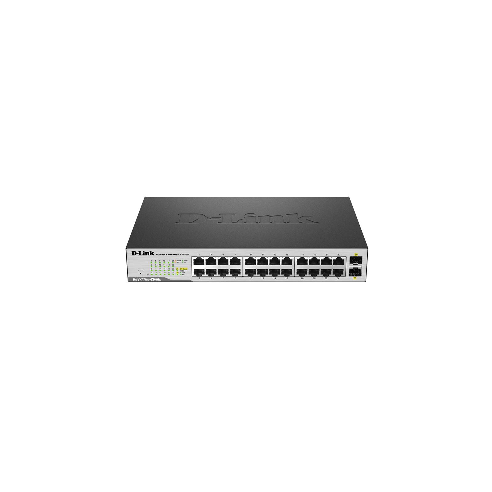 Коммутатор сетевой D-Link DGS-1100-26/ME