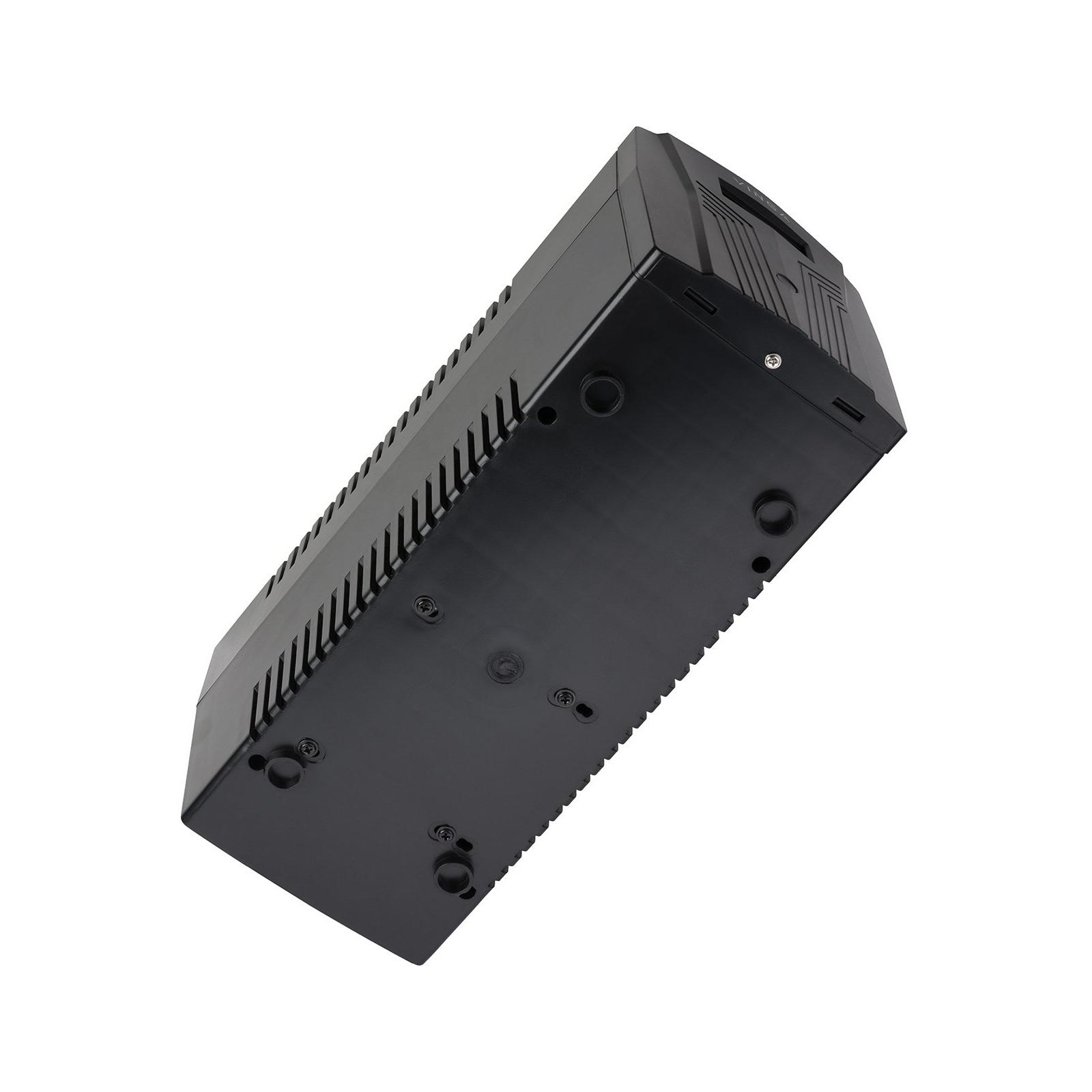 Источник бесперебойного питания Vinga LCD 1200VA plastic case (VPC-1200P) изображение 6