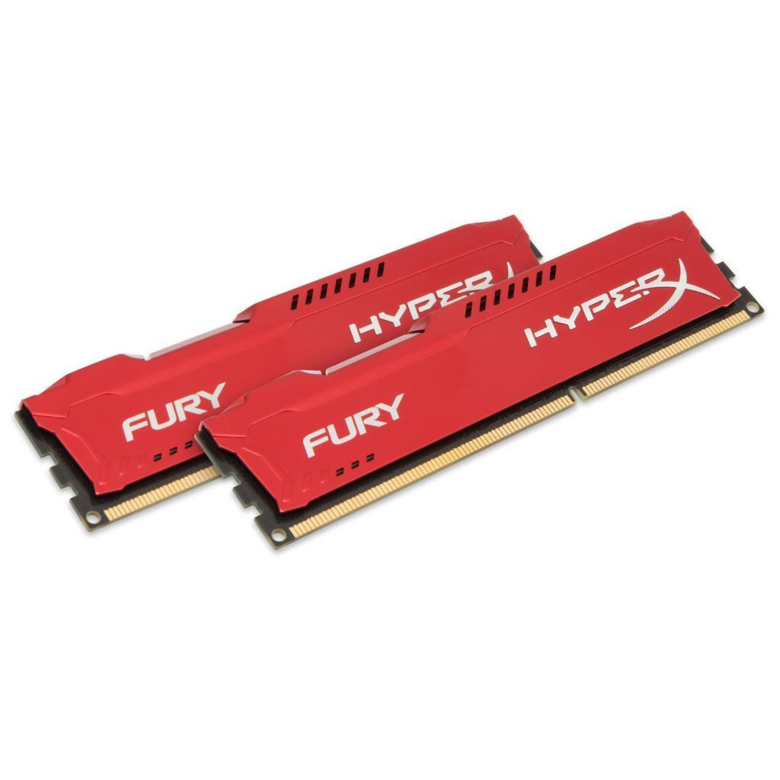 Модуль памяти для компьютера DDR4 32GB (4x8GB) 2933 MHz HyperX FURY Red HyperX (Kingston Fury) (HX429C17FR2K4/32) изображение 2