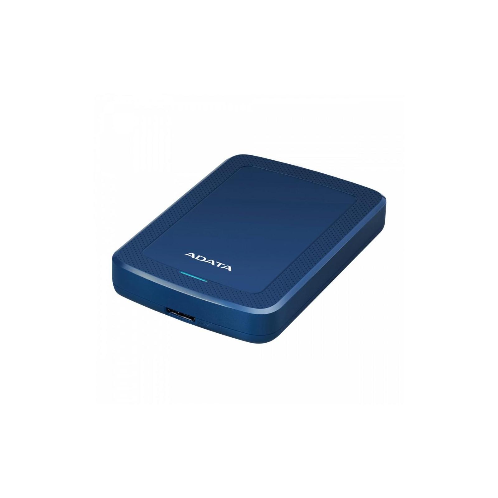 """Внешний жесткий диск 2.5"""" 5TB ADATA (AHV300-5TU31-CBL) изображение 2"""