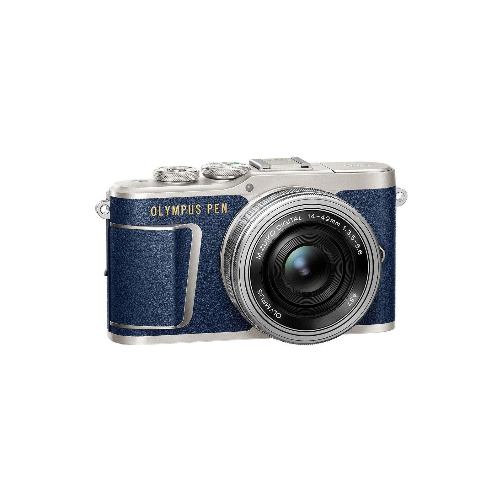 Цифровой фотоаппарат OLYMPUS E-PL9 14-42 mm Pancake Zoom Kit blue/silver (V205092UE000) изображение 4