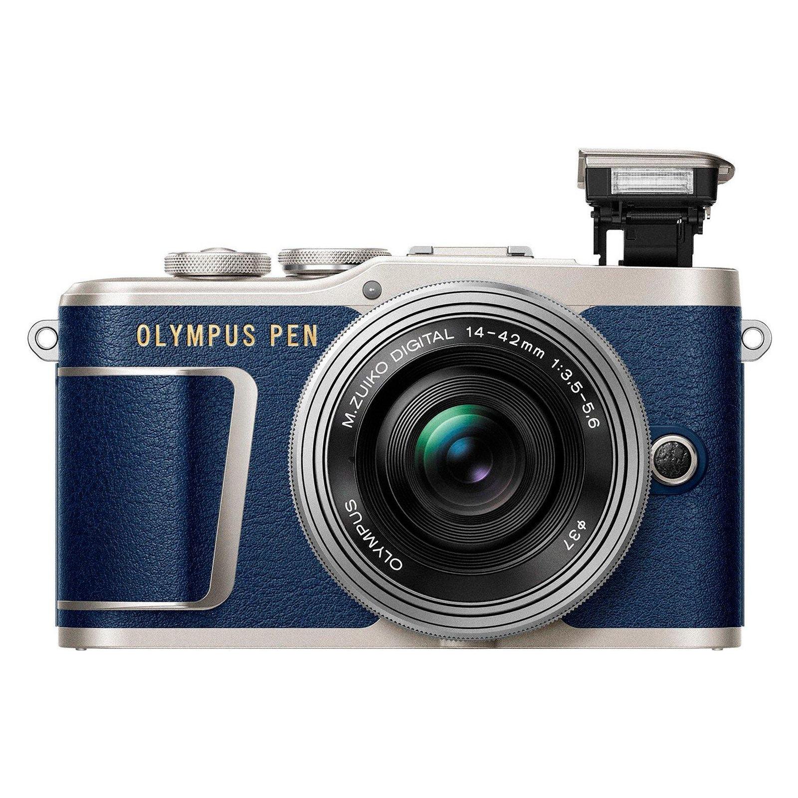 Цифровой фотоаппарат OLYMPUS E-PL9 14-42 mm Pancake Zoom Kit blue/silver (V205092UE000) изображение 5