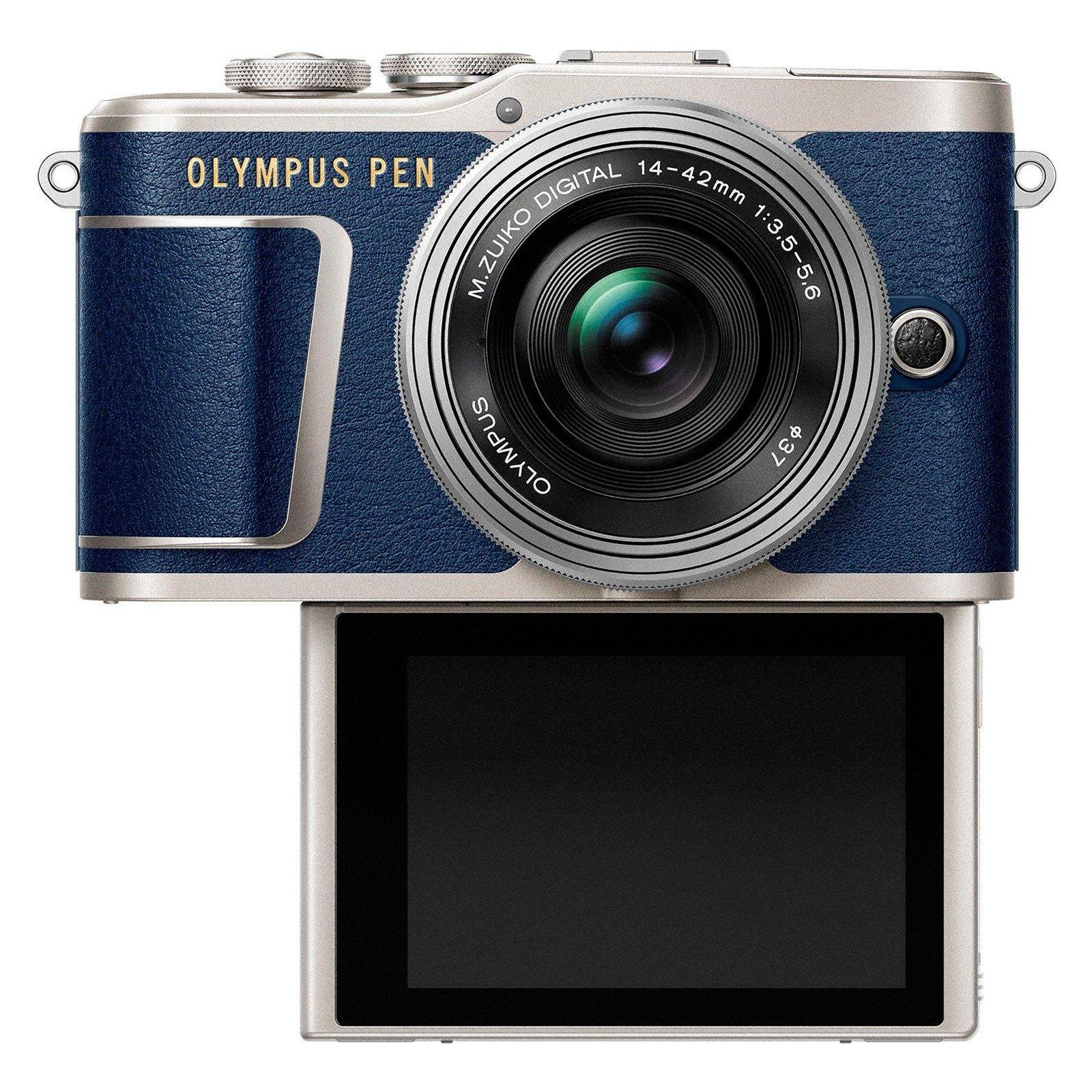 Цифровой фотоаппарат OLYMPUS E-PL9 14-42 mm Pancake Zoom Kit blue/silver (V205092UE000) изображение 6