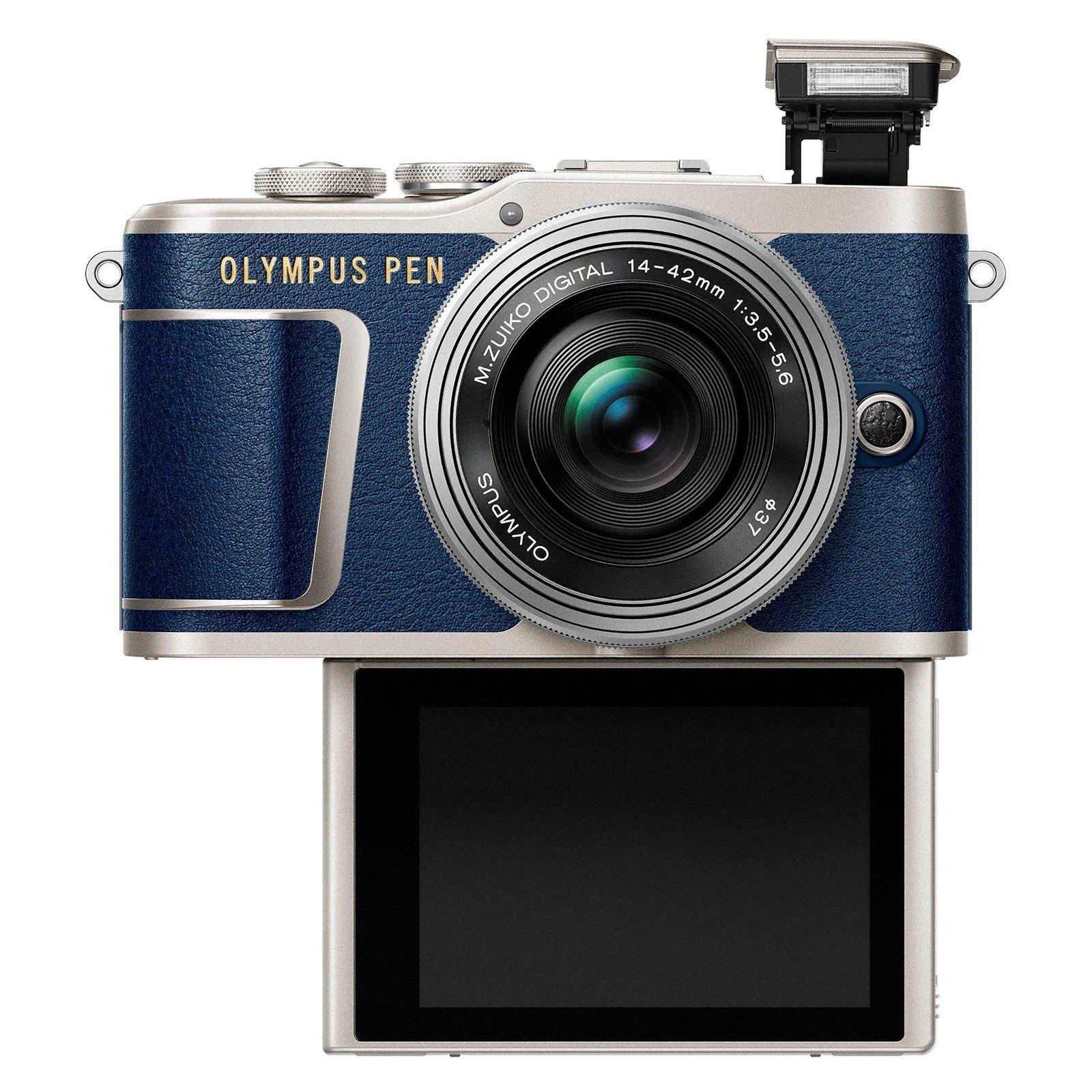 Цифровой фотоаппарат OLYMPUS E-PL9 14-42 mm Pancake Zoom Kit blue/silver (V205092UE000) изображение 7