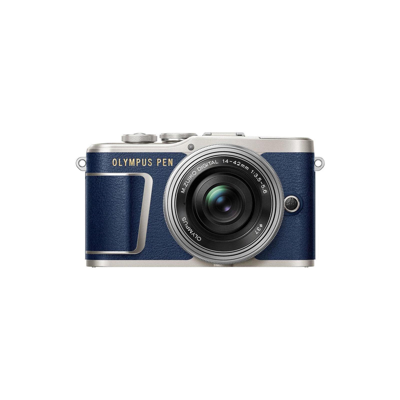 Цифровой фотоаппарат OLYMPUS E-PL9 14-42 mm Pancake Zoom Kit blue/silver (V205092UE000)