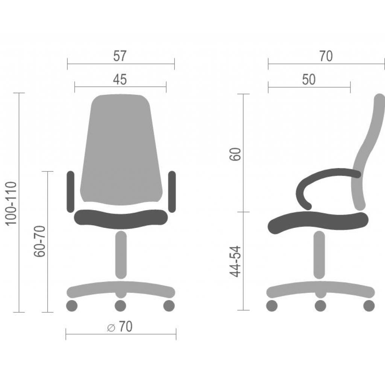 Кресло игровое АКЛАС Астон W PL TILT Синее (10472) изображение 6