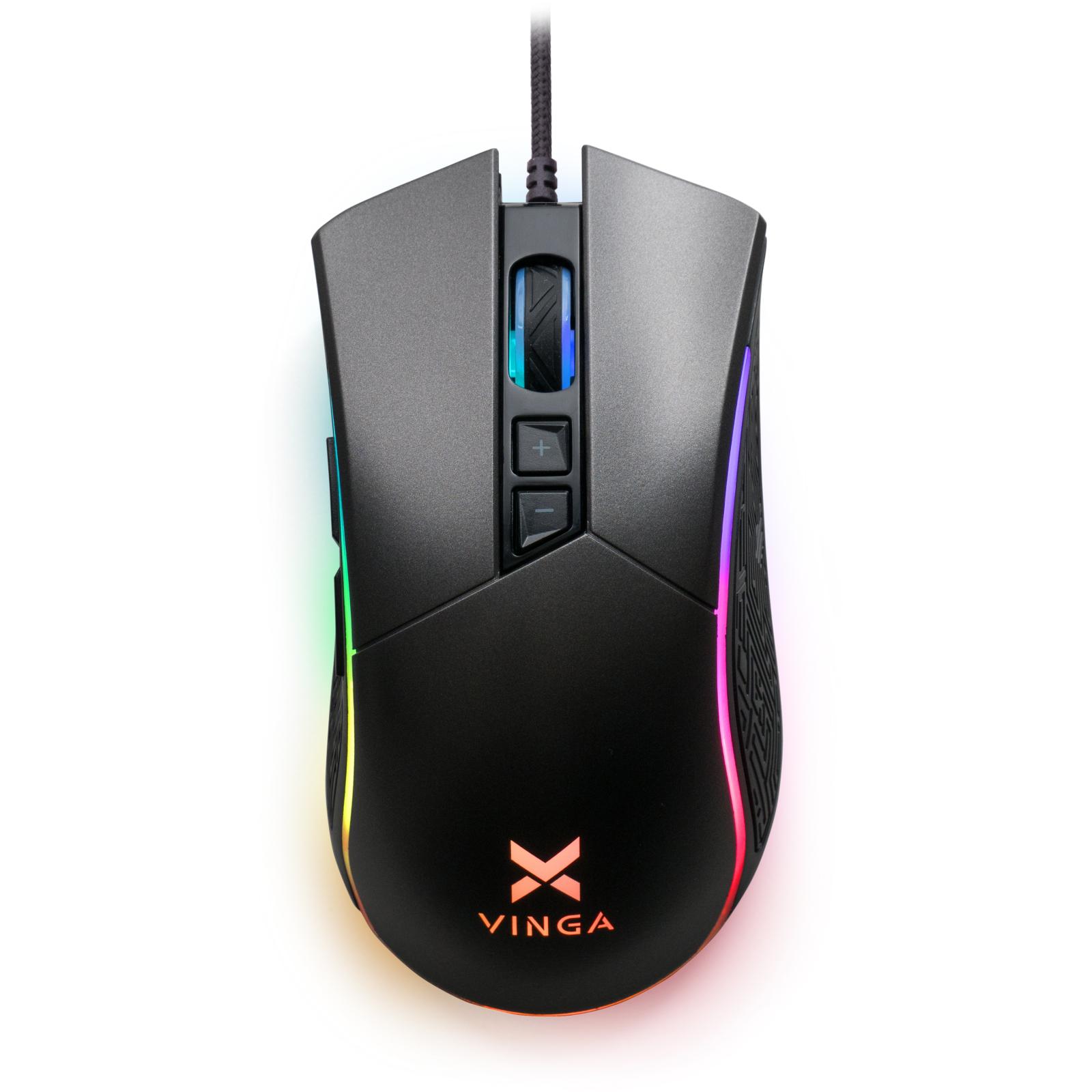 Мишка Vinga MSG-201 Black