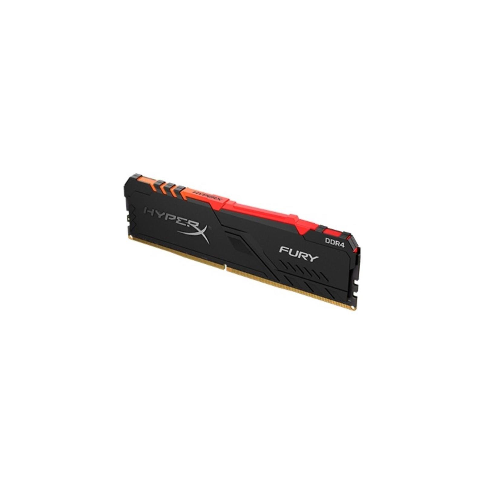 Модуль пам'яті для комп'ютера DDR4 8GB 3200 MHz HyperX FURY RGB Kingston (HX432C16FB3A/8) зображення 2
