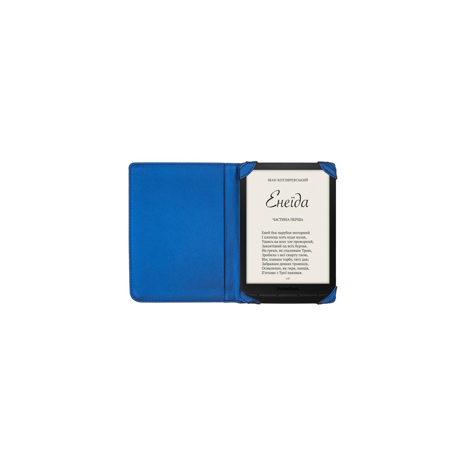 """Чехол для электронной книги Pocketbook 7.8"""" для PB740 blue (VLPB-TB740MBLU1) изображение 3"""
