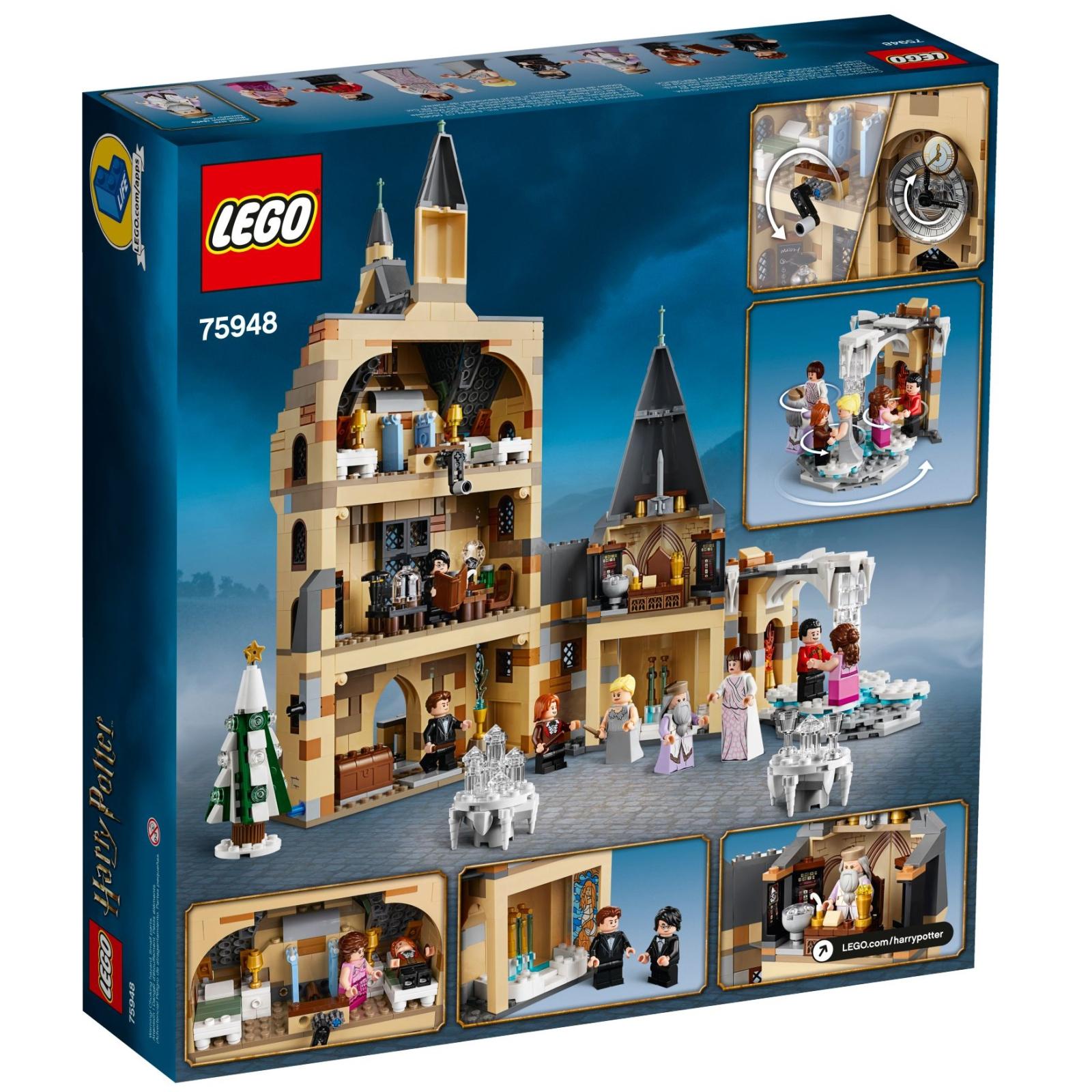 Конструктор LEGO Harry Potter Часовая башня Хогвартса 922 детали (75948) изображение 5