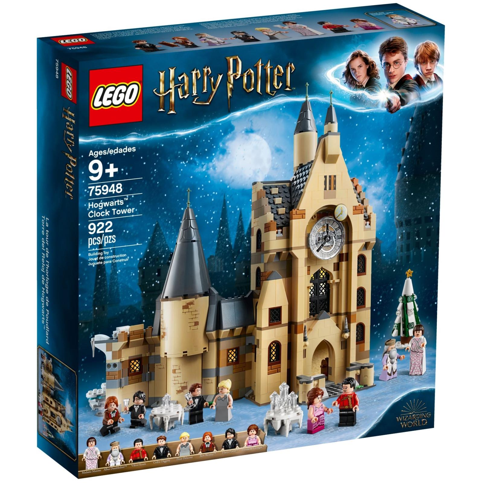 Конструктор LEGO Harry Potter Часовая башня Хогвартса 922 детали (75948)