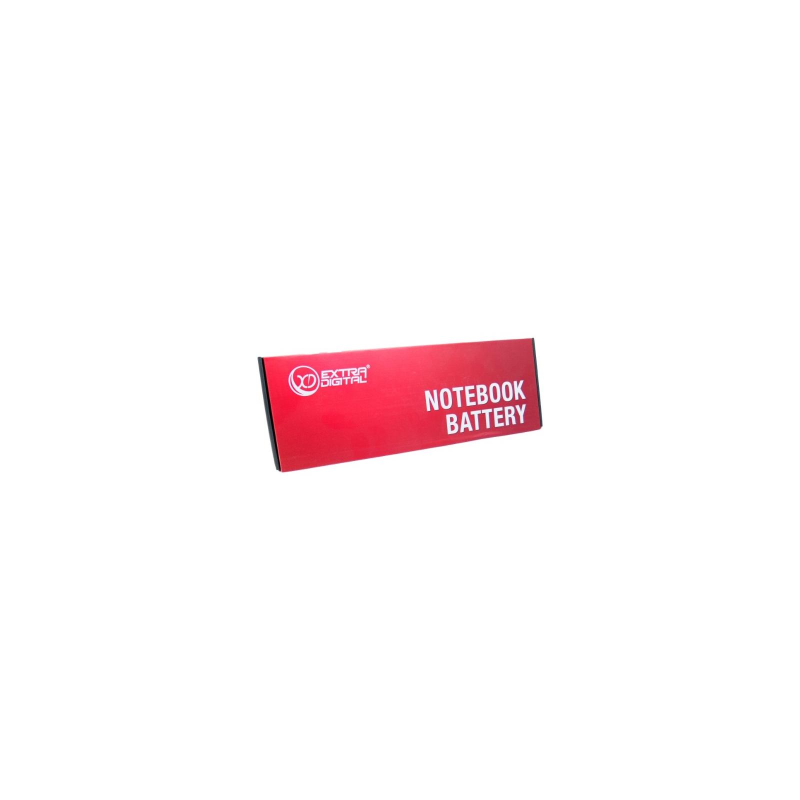 Аккумулятор для ноутбука Asus A32-X401 10.8 V, 5200 mAh 56 Wh Extradigital (BNA3998) изображение 4