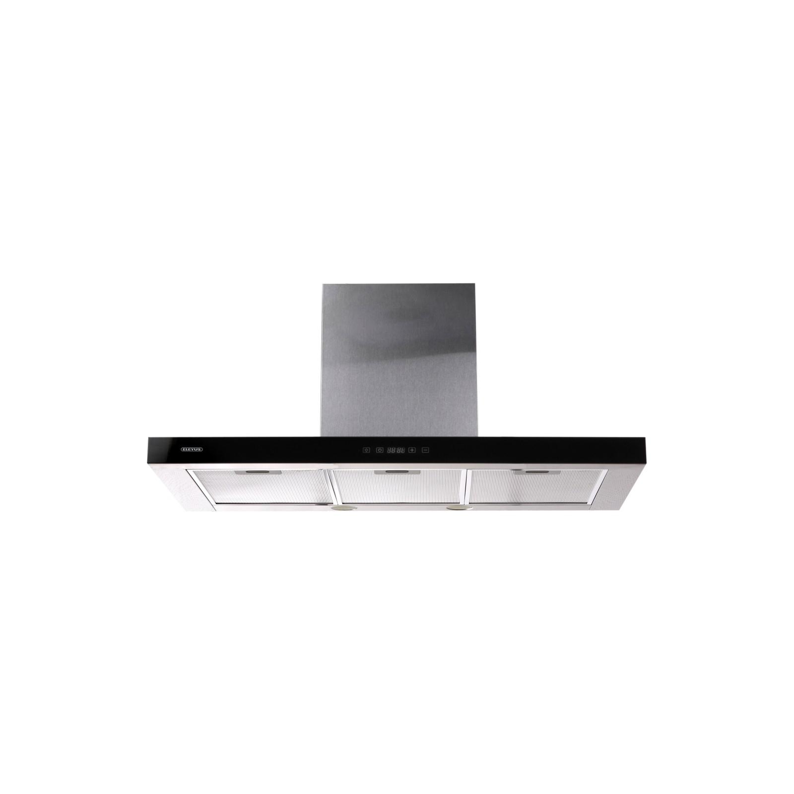 Вытяжка кухонная Eleyus Stels 1200 LED SMD 90 IS+BL (Stels1200LEDSMD90IS+BL) изображение 2