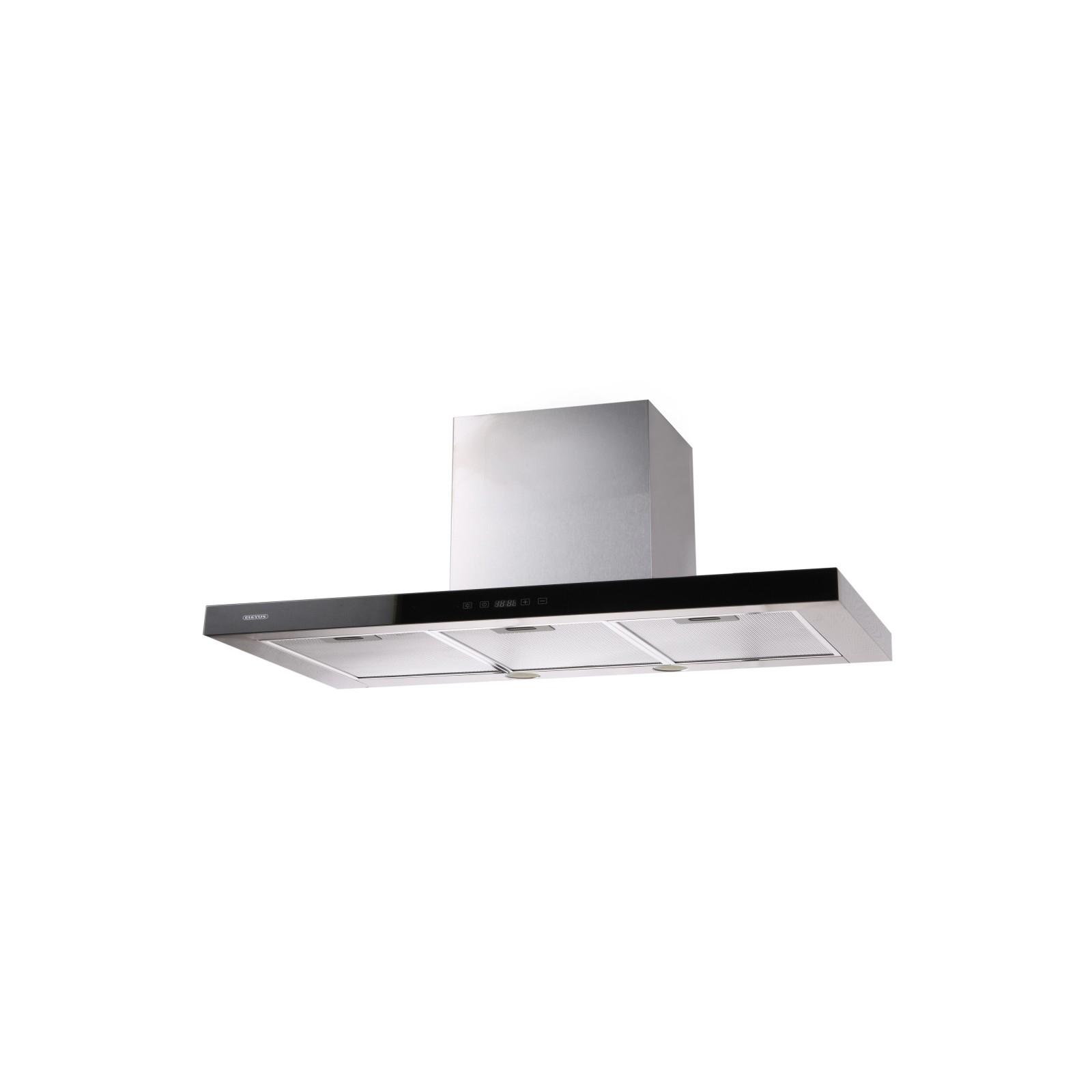 Вытяжка кухонная Eleyus Stels 1200 LED SMD 90 IS+BL (Stels1200LEDSMD90IS+BL) изображение 3