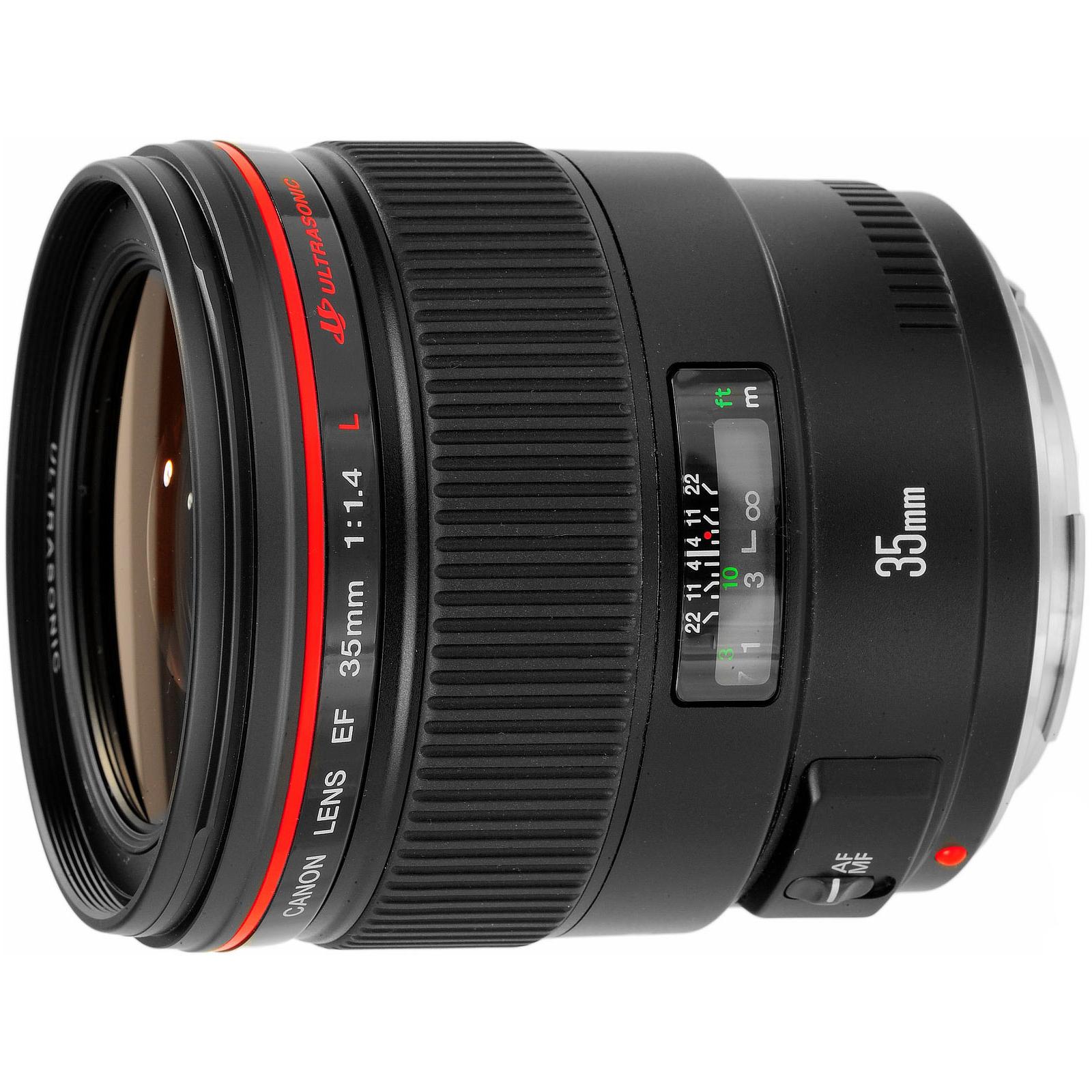 Объектив EF 35mm f/1.4L USM Canon (2512A011/2512A017) изображение 2