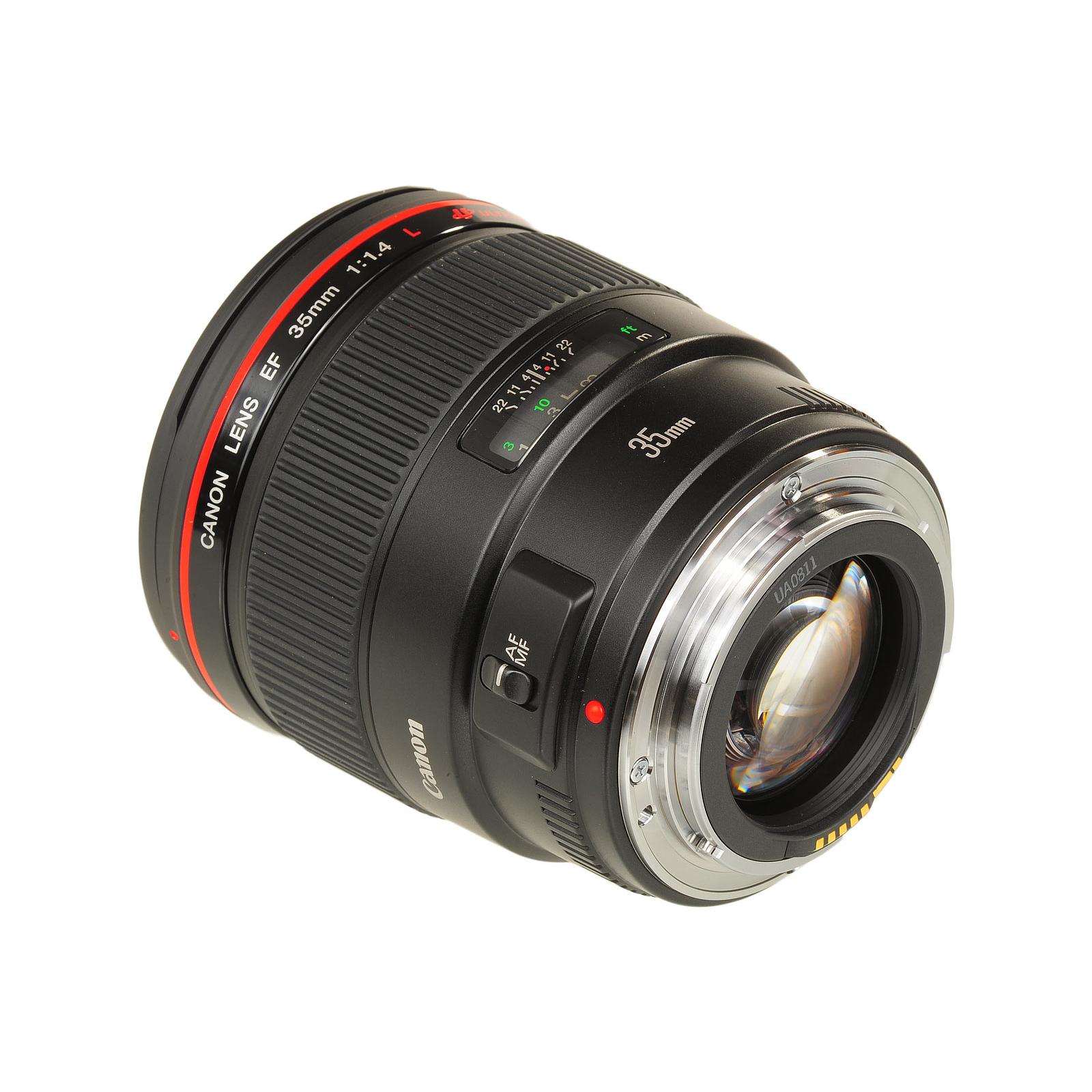 Объектив EF 35mm f/1.4L USM Canon (2512A011/2512A017) изображение 3