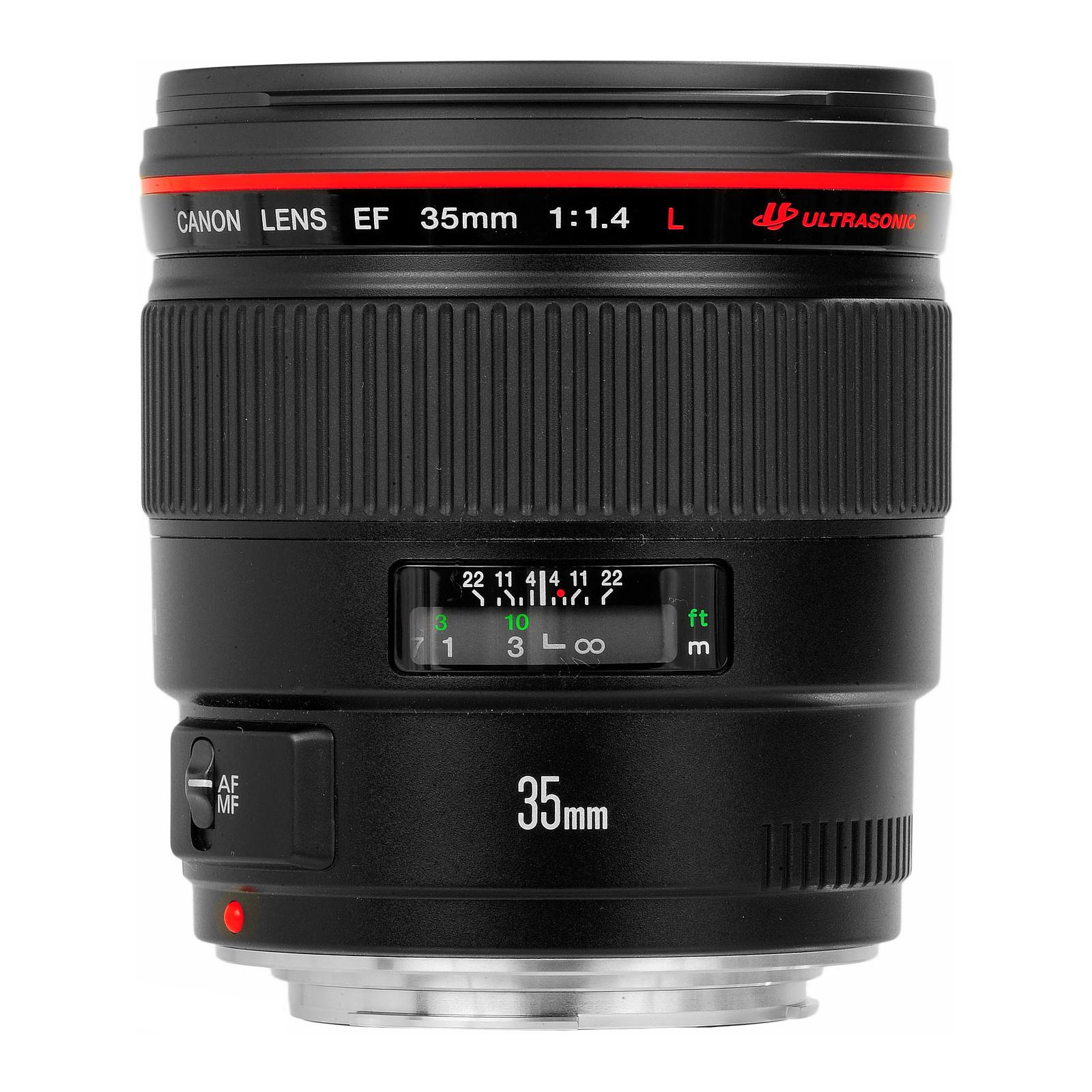 Объектив EF 35mm f/1.4L USM Canon (2512A011/2512A017)