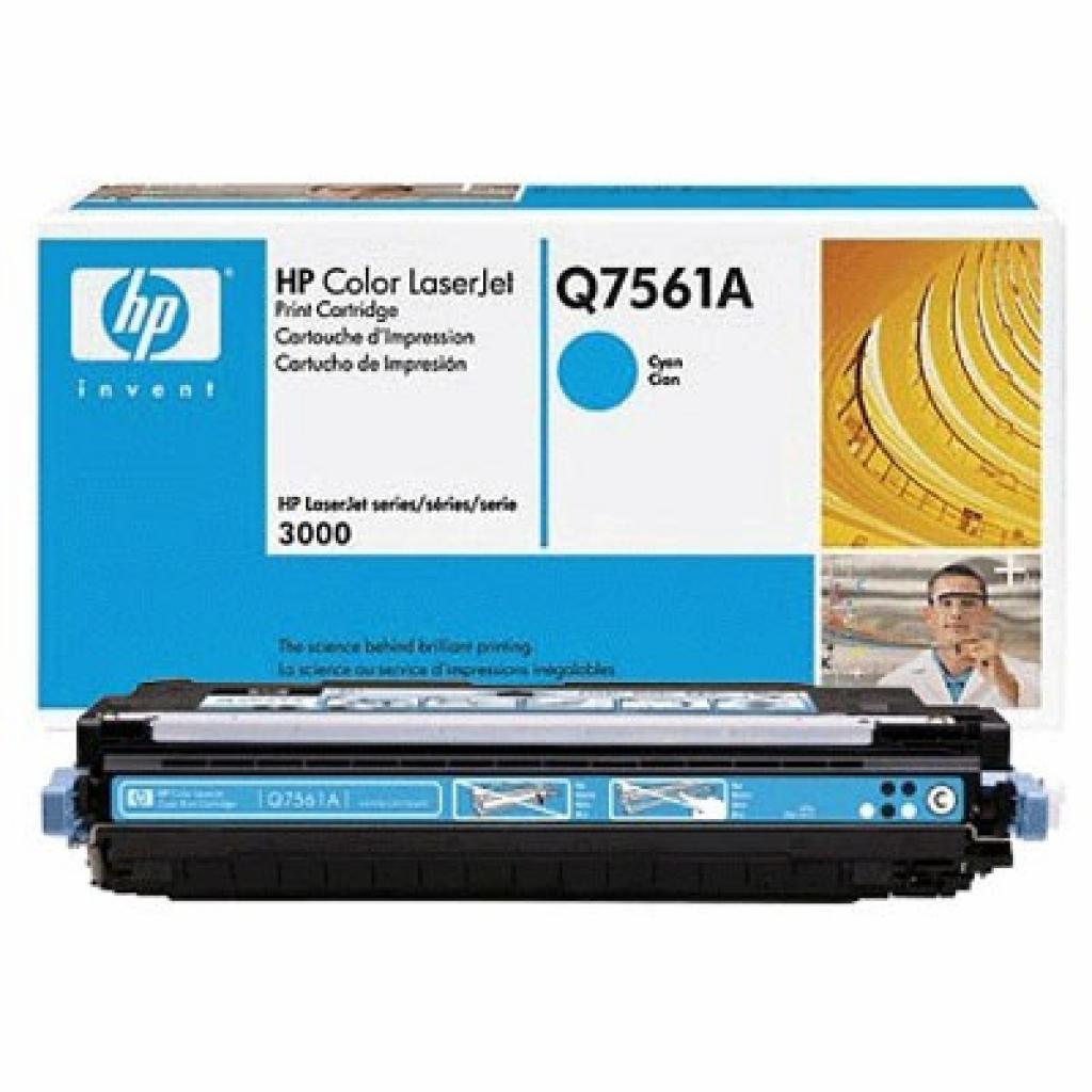 Картридж CLJ  314A для 2700/3000 cyan HP (Q7561A)