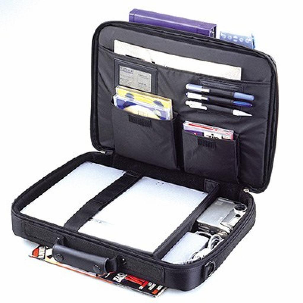 """Сумка для ноутбука SUMDEX 14.1-15.4"""" Elite Notebook Case (NON-084BK) изображение 2"""