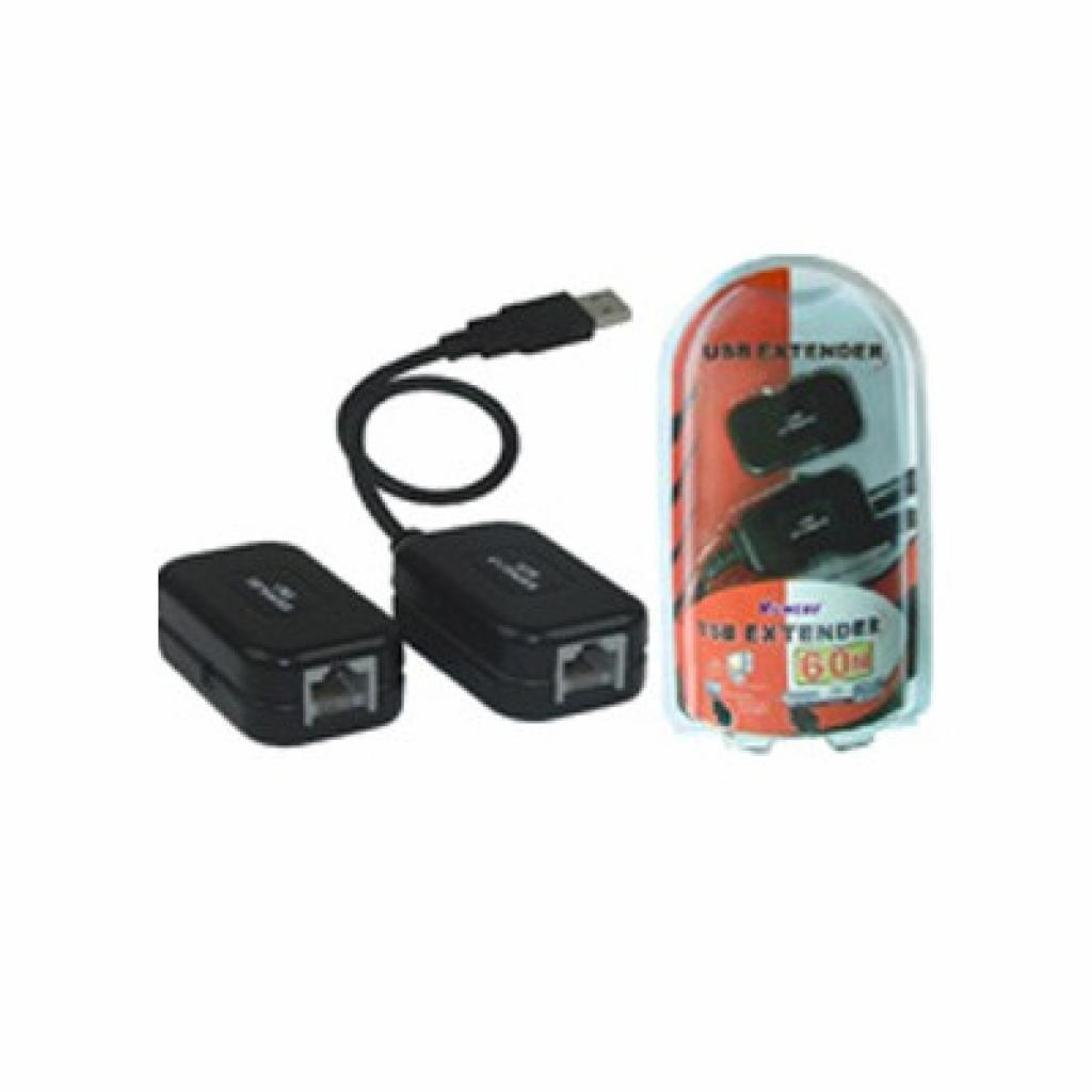 Кабель для передачи данных USB 1.1 to UTP Viewcon (VE399)
