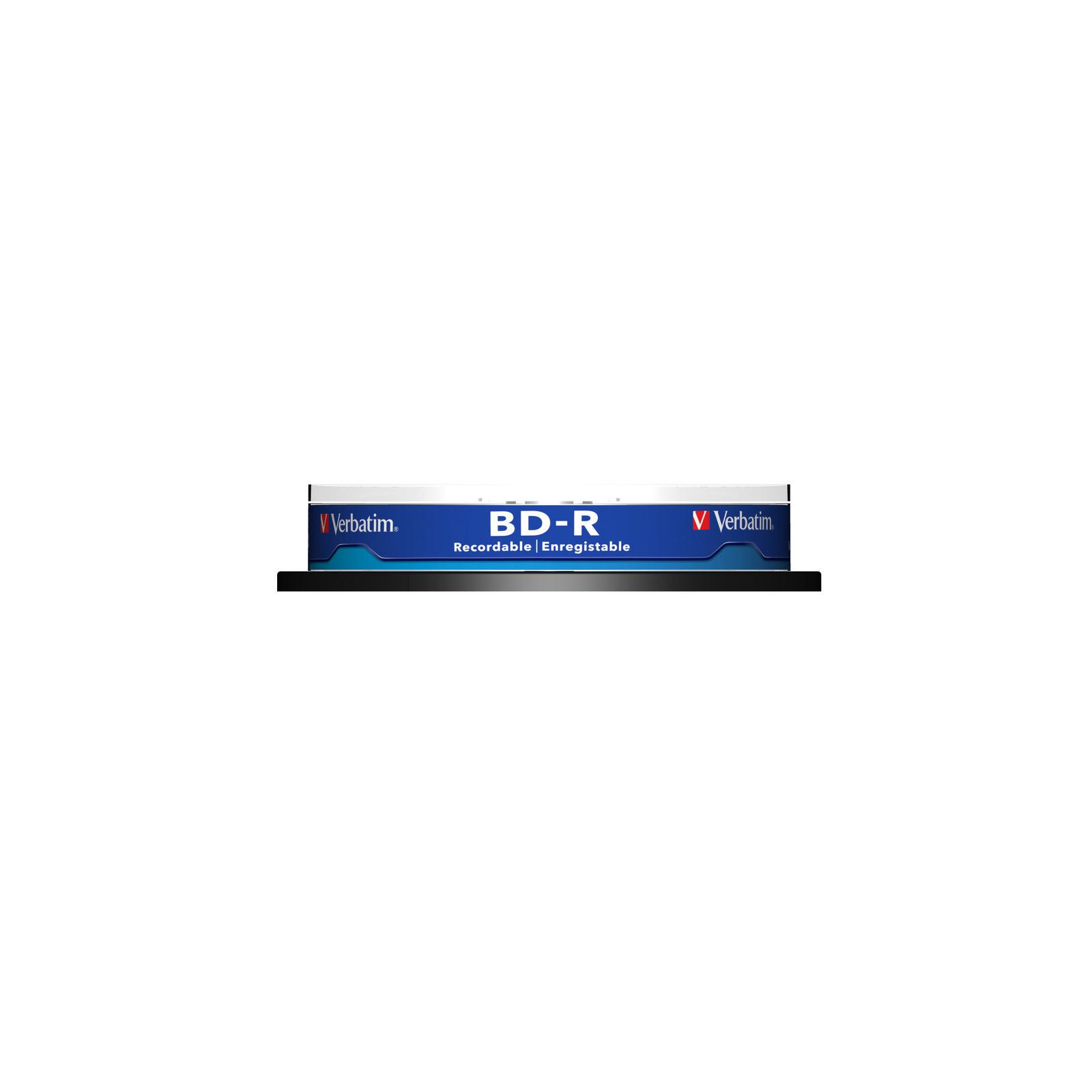 Диск BD Verbatim 25Gb 6x Cacke 10шт (43742) изображение 2