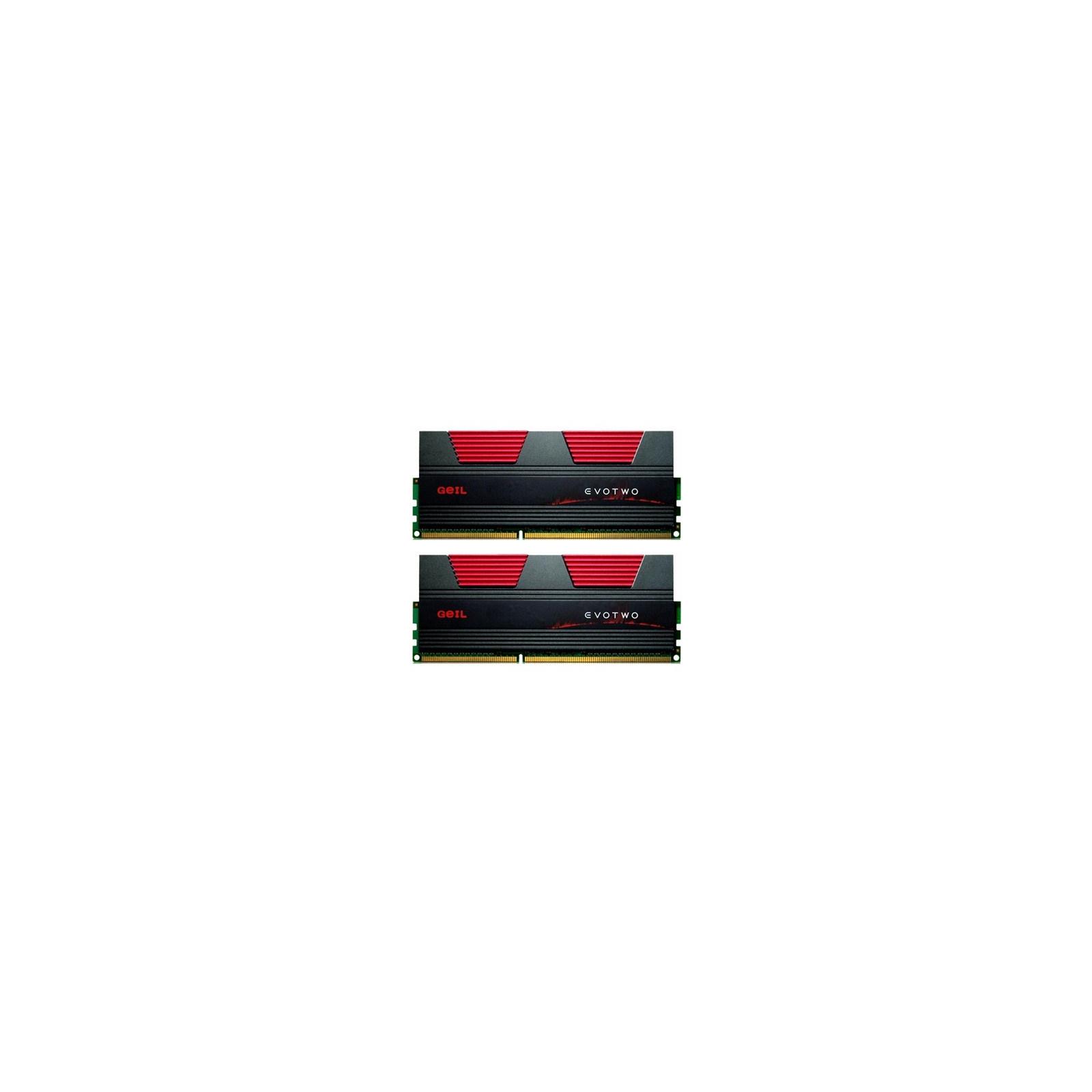 Модуль памяти для компьютера DDR3 8GB (2x4GB) 2400 MHz GEIL (GET38GB2400C10DC)