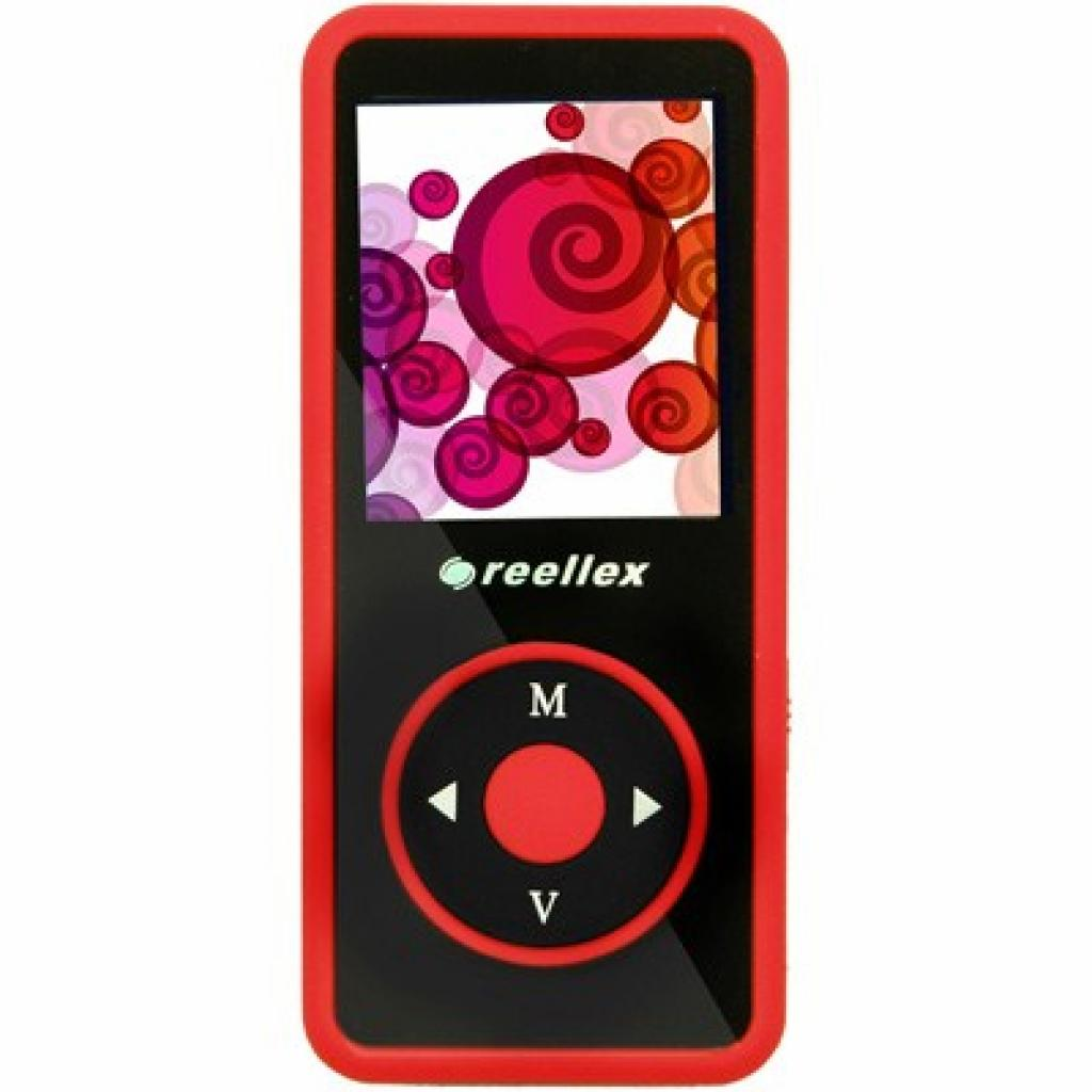 mp3 плеер Reellex UP-48 4GB Black/Red (UP-48 Black/Red)