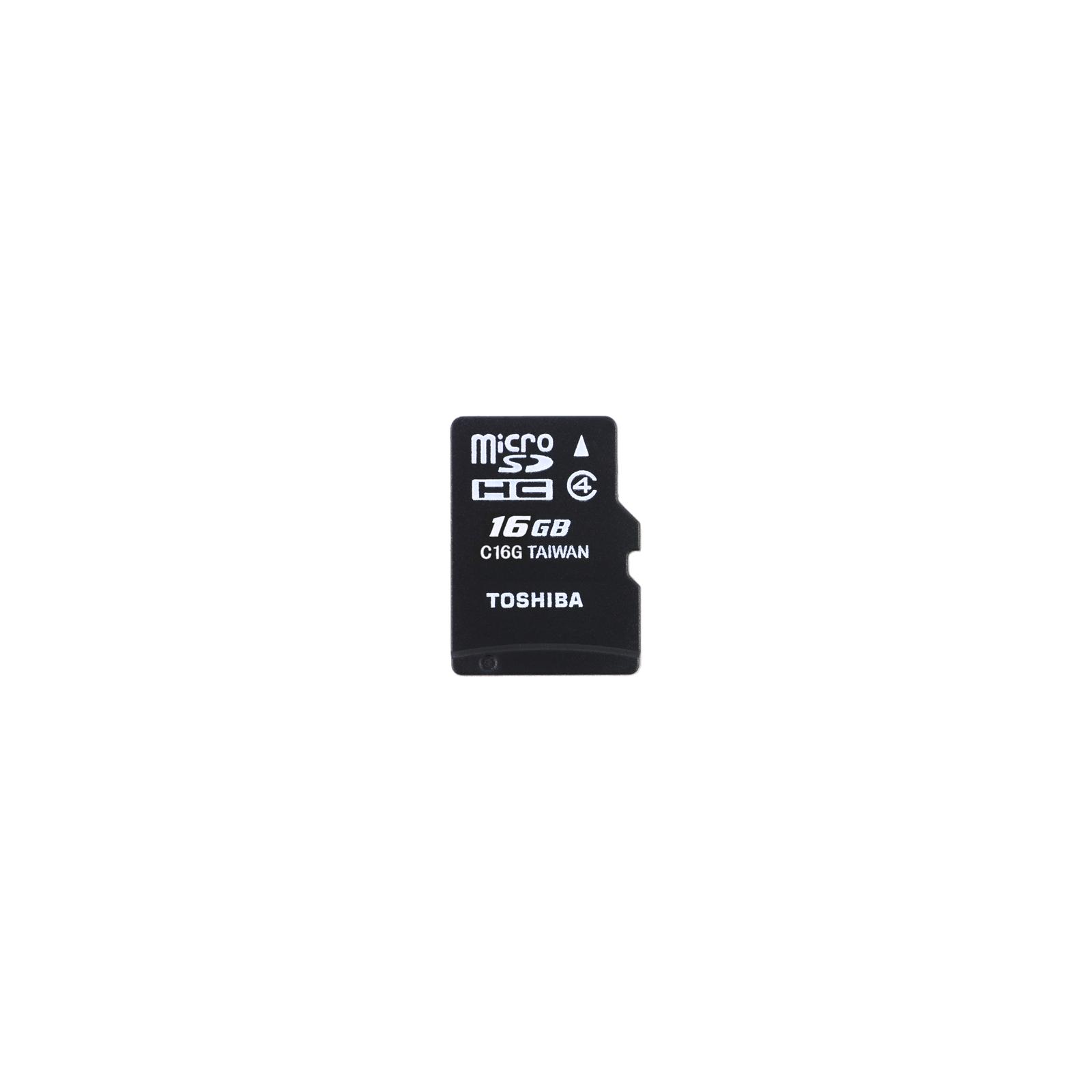 Карта памяти TOSHIBA 16Gb microSDHC UHS-I class 10 (SD-C016UHS1(BL5A)