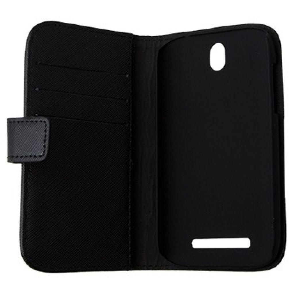 Чехол для моб. телефона Drobak для HTC Desire SV Elegant Wallet Black (218843) изображение 2