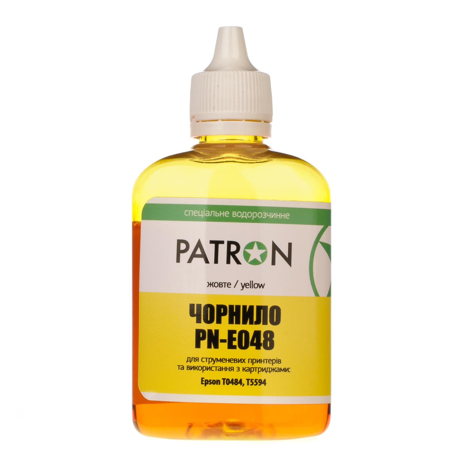 Чернила PATRON EPSON R220/90г YELLOW/T0484/PN-E048-305 (I-PN-ET0484-090-Y) изображение 2
