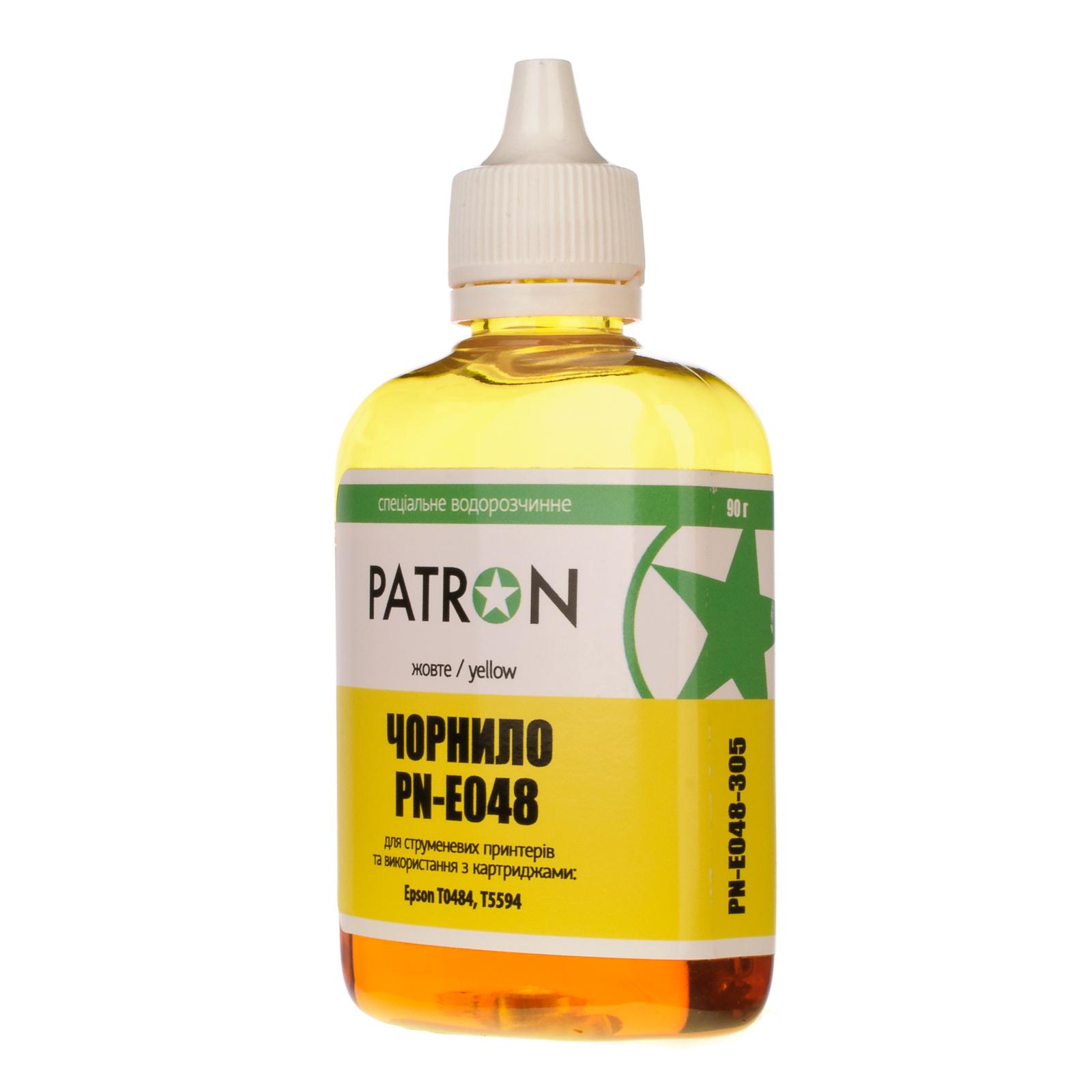 Чернила PATRON EPSON R220/90г YELLOW/T0484/PN-E048-305 (I-PN-ET0484-090-Y)