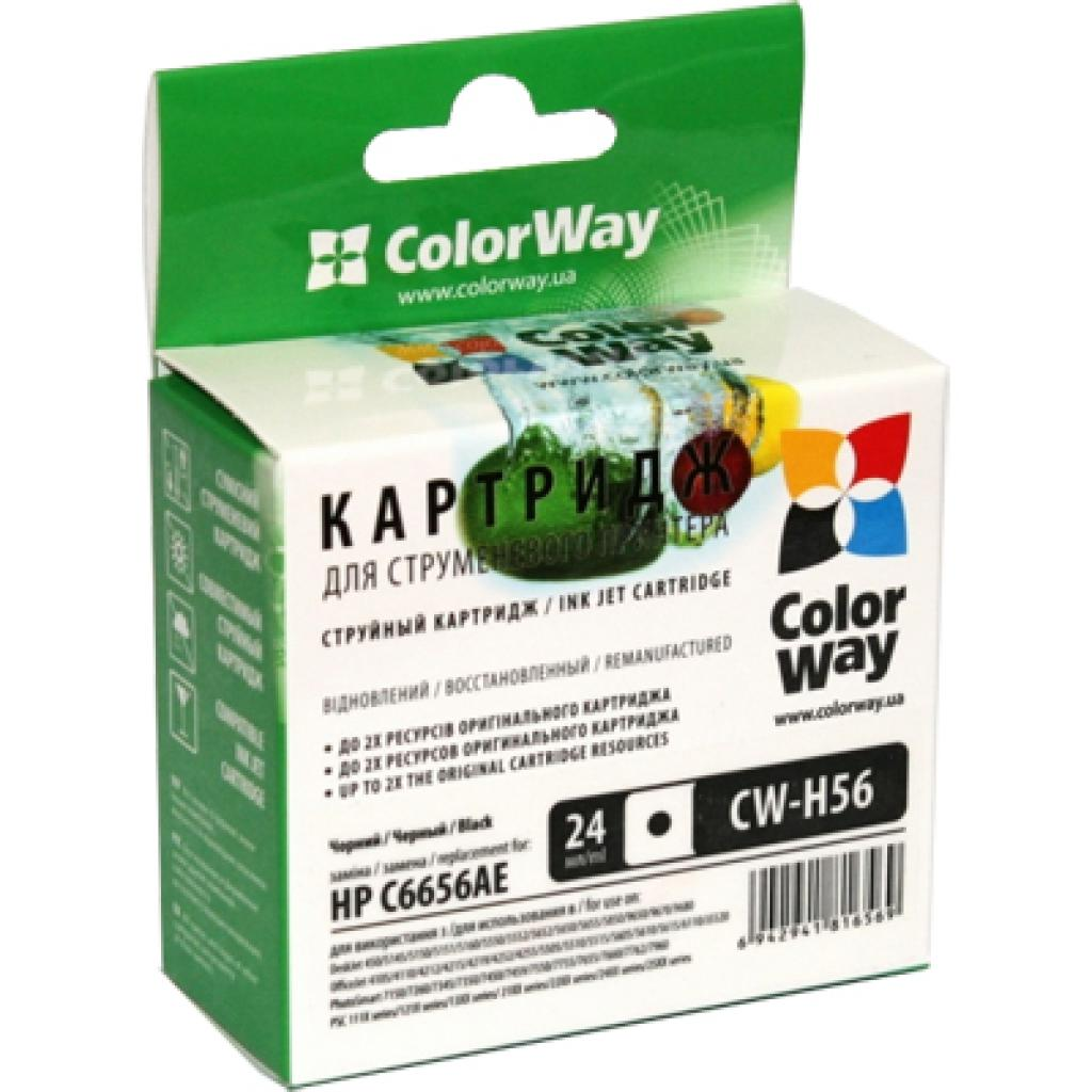Картридж ColorWay HP №56XL Black (CW-H56XL)