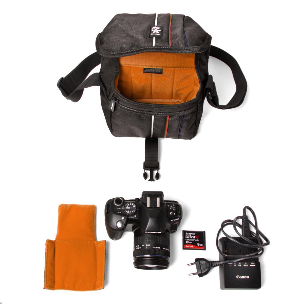 Фото-сумка Crumpler Jackpack 1500 (grey_black) (JP1500-005) изображение 3