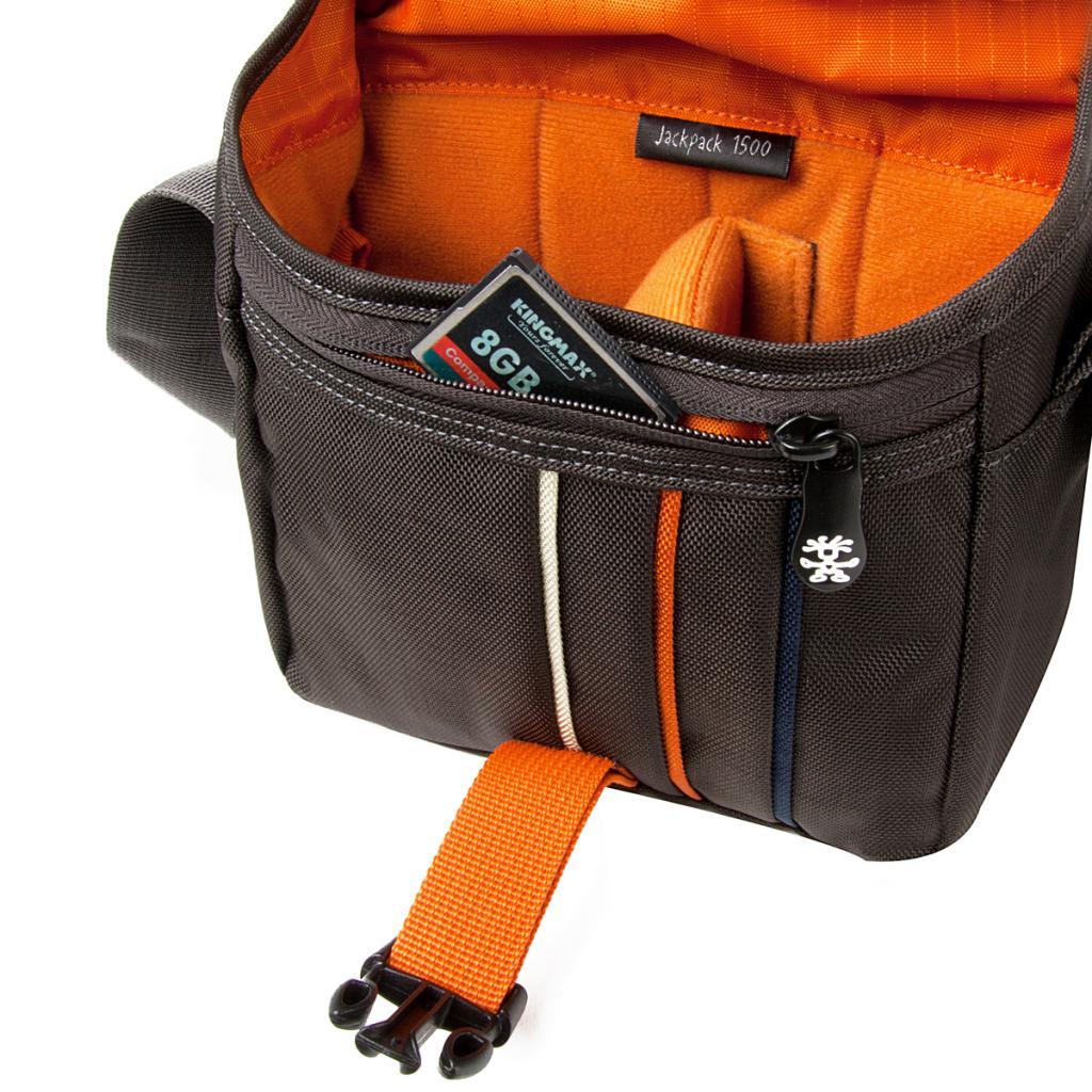 Фото-сумка Crumpler Jackpack 1500 (grey_black) (JP1500-005) изображение 4