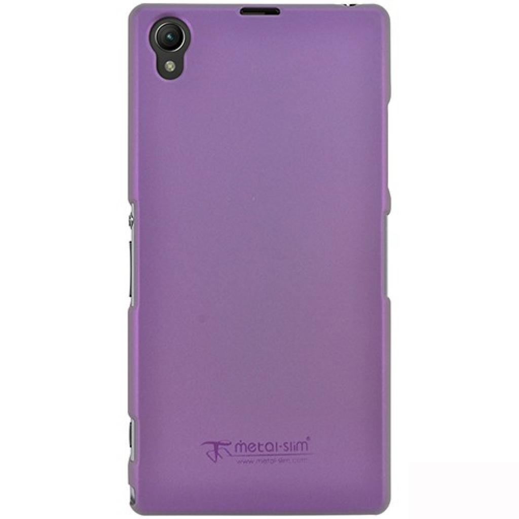 Чехол для моб. телефона Metal-Slim Sony Xpe Z1 /Rubber Purple (C-S0024MR0011)