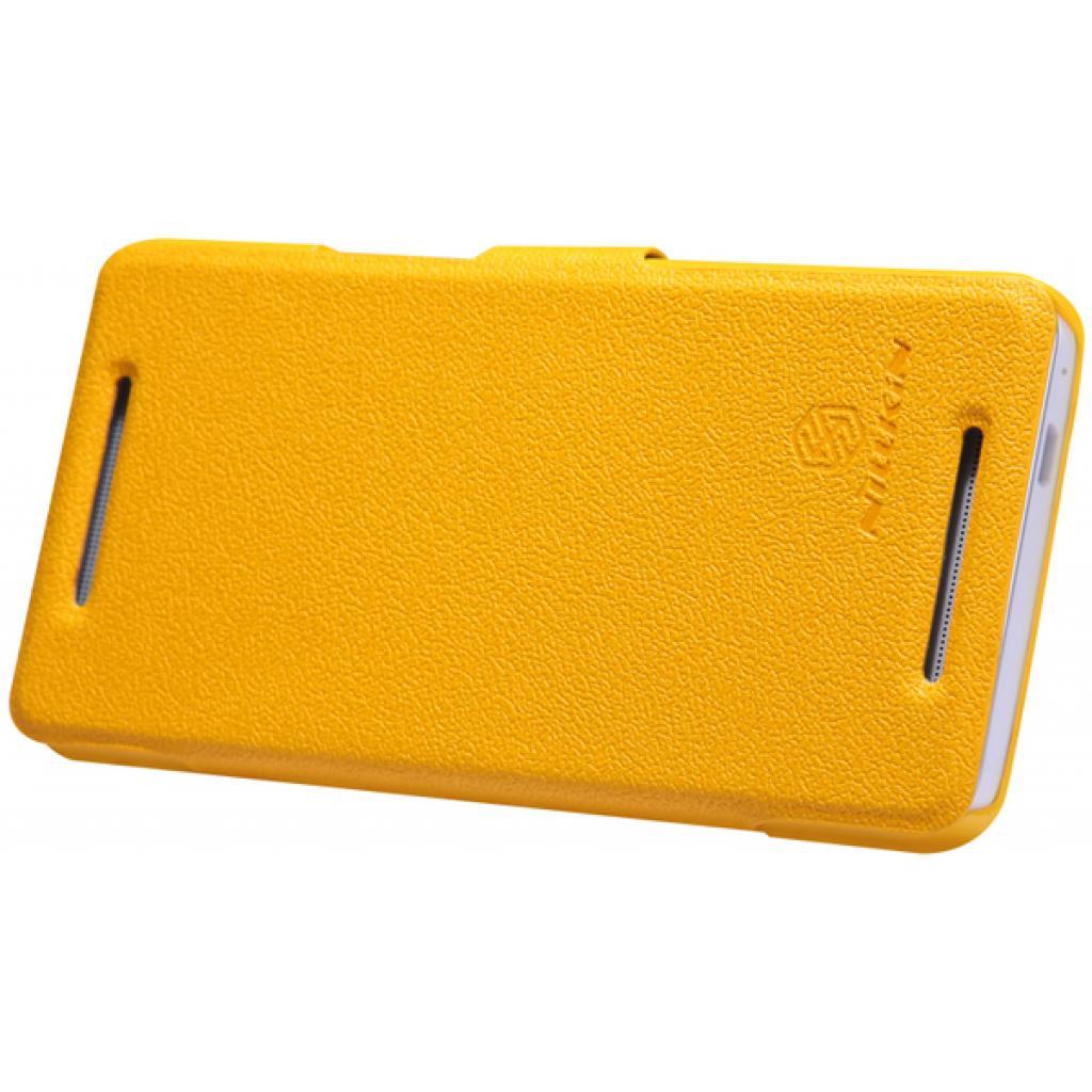 Чехол для моб. телефона NILLKIN для HTC ONE Dual 802w-Fresh/ Leather (6076839) изображение 2
