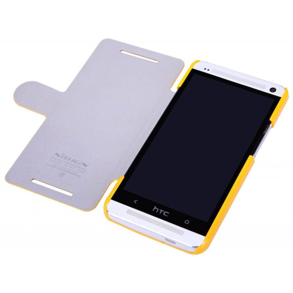 Чехол для моб. телефона NILLKIN для HTC ONE Dual 802w-Fresh/ Leather (6076839) изображение 3