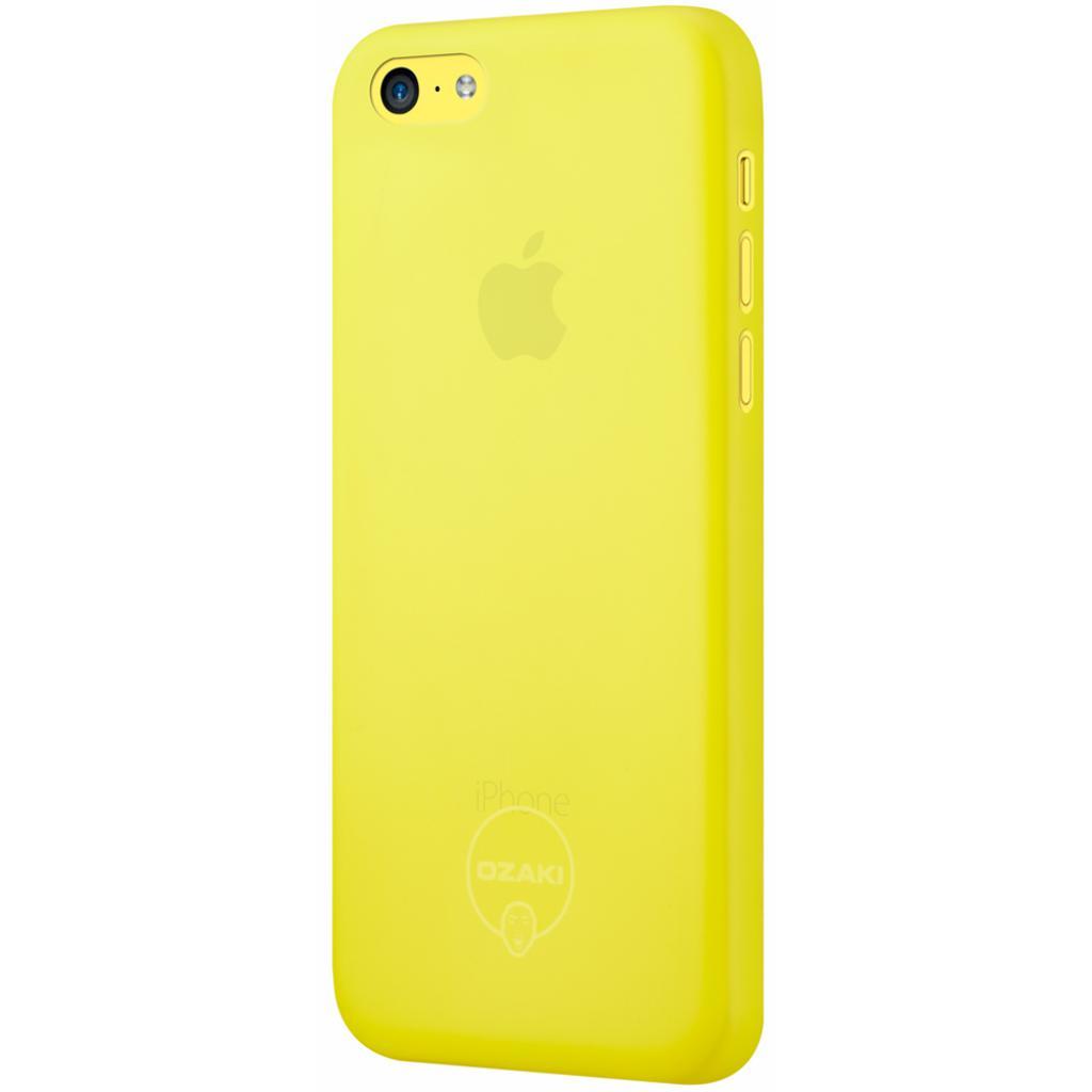 Чехол для моб. телефона OZAKI iPhone 5C O!coat 0.3 Jelly Yellow (OC546YL) изображение 2