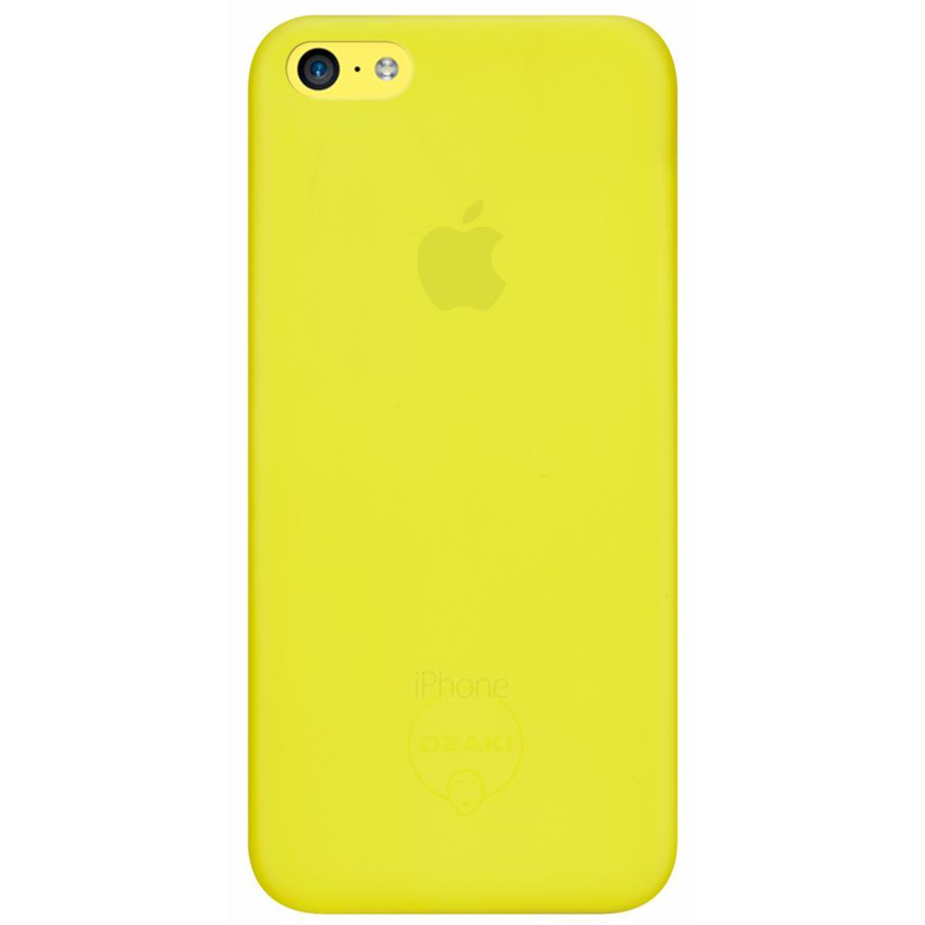 Чехол для моб. телефона OZAKI iPhone 5C O!coat 0.3 Jelly Yellow (OC546YL)