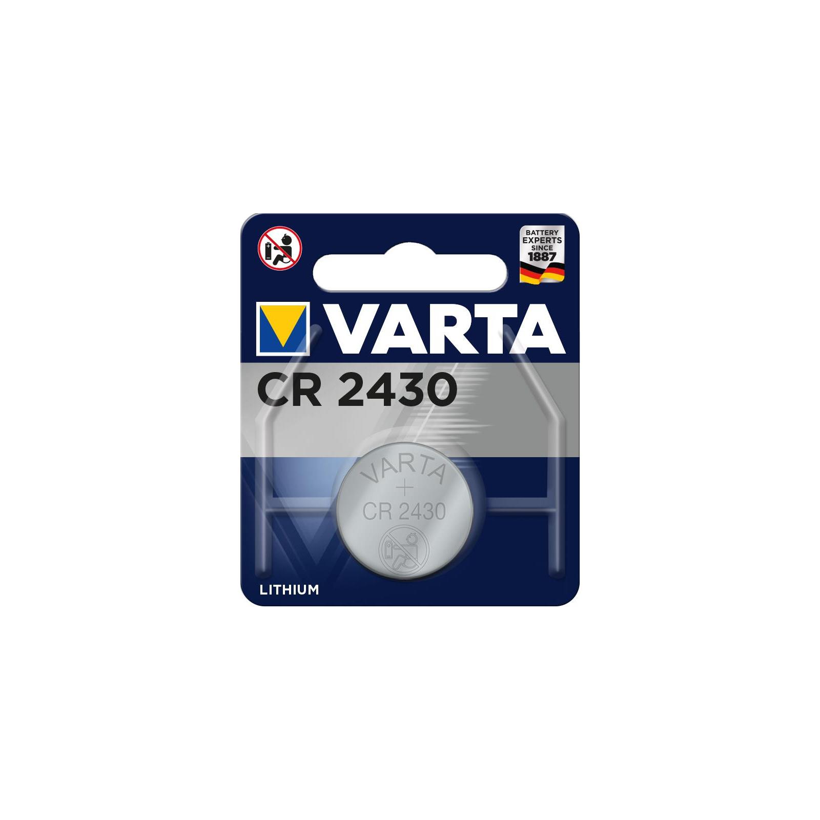 Батарейка Varta CR 2430 Lithium * 1 (06430101401)