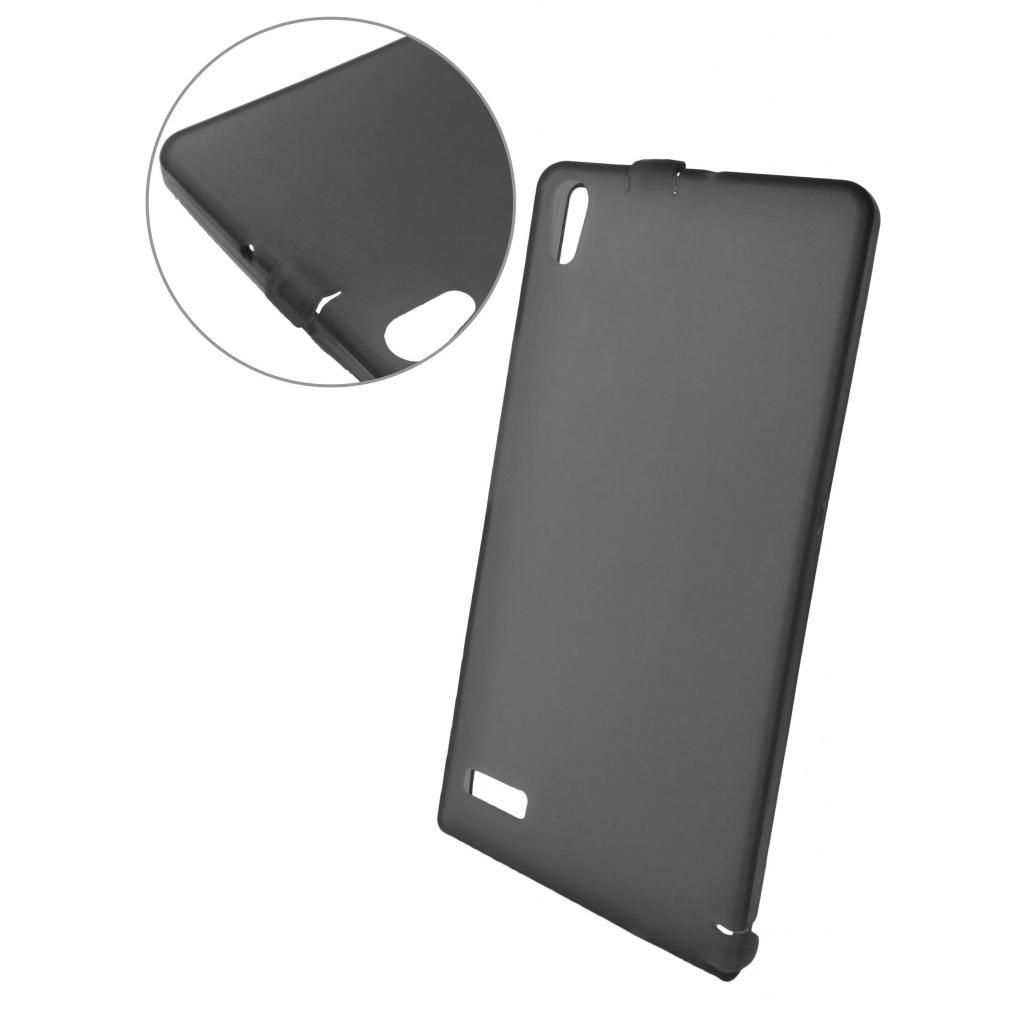 Чехол для моб. телефона GLOBAL для Huawei Ascend P6-U06 (темный) (1283126459504)