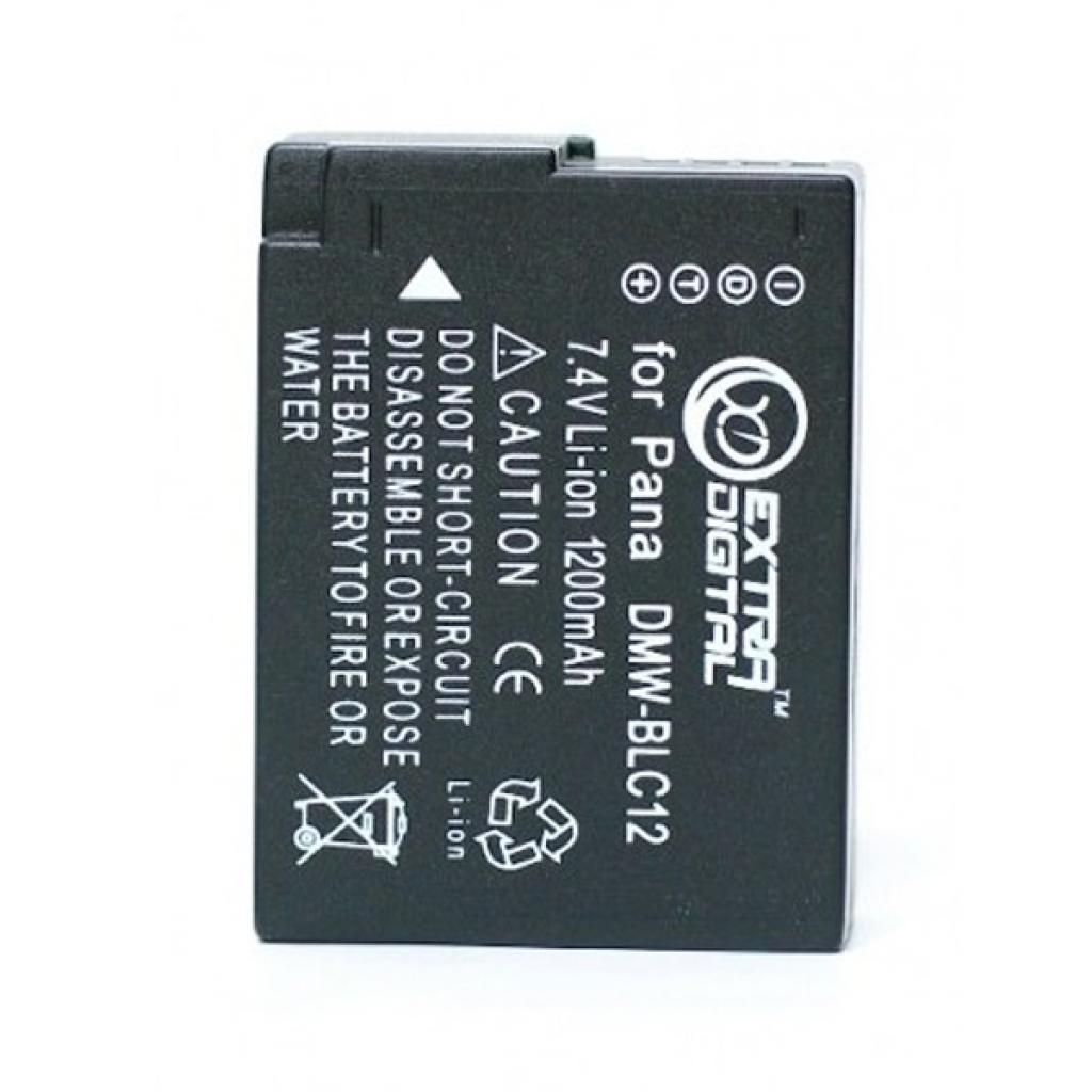 Аккумулятор к фото/видео EXTRADIGITAL Panasonic DMW-BLC12 (BDP2567)