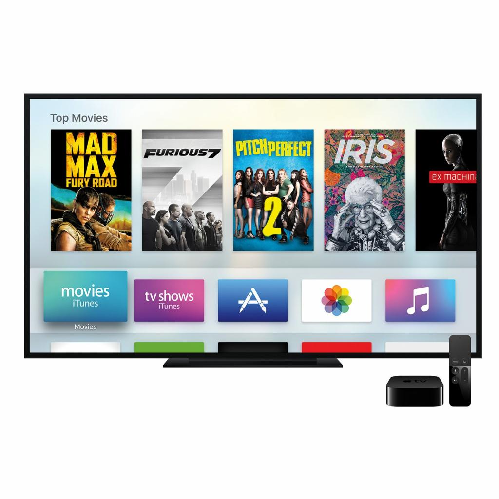 Медиаплеер Apple TV A1625 64GB (MLNC2RS/A) изображение 7
