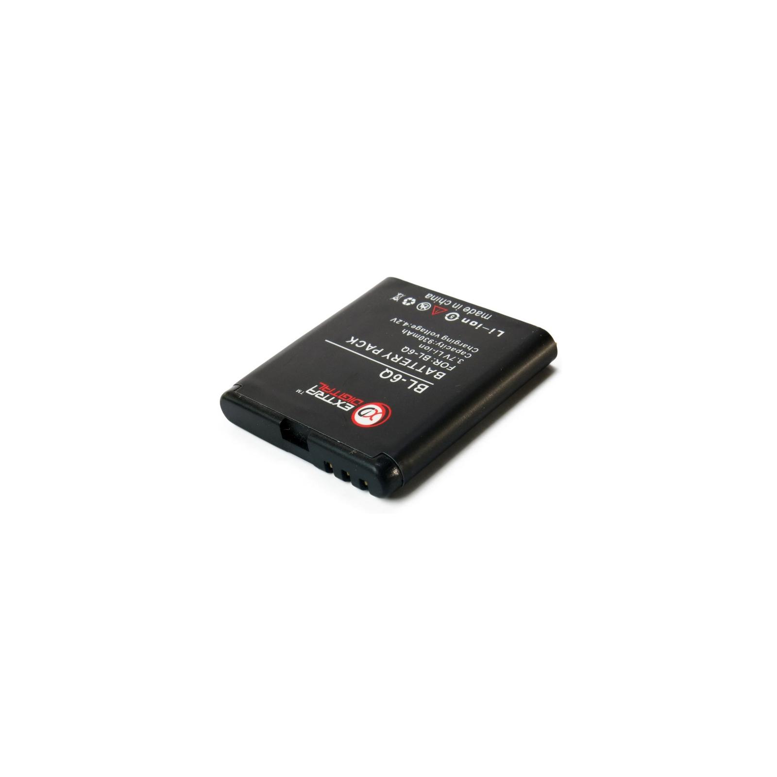 Аккумуляторная батарея EXTRADIGITAL Nokia BL-6Q (DV00DV6034) изображение 4