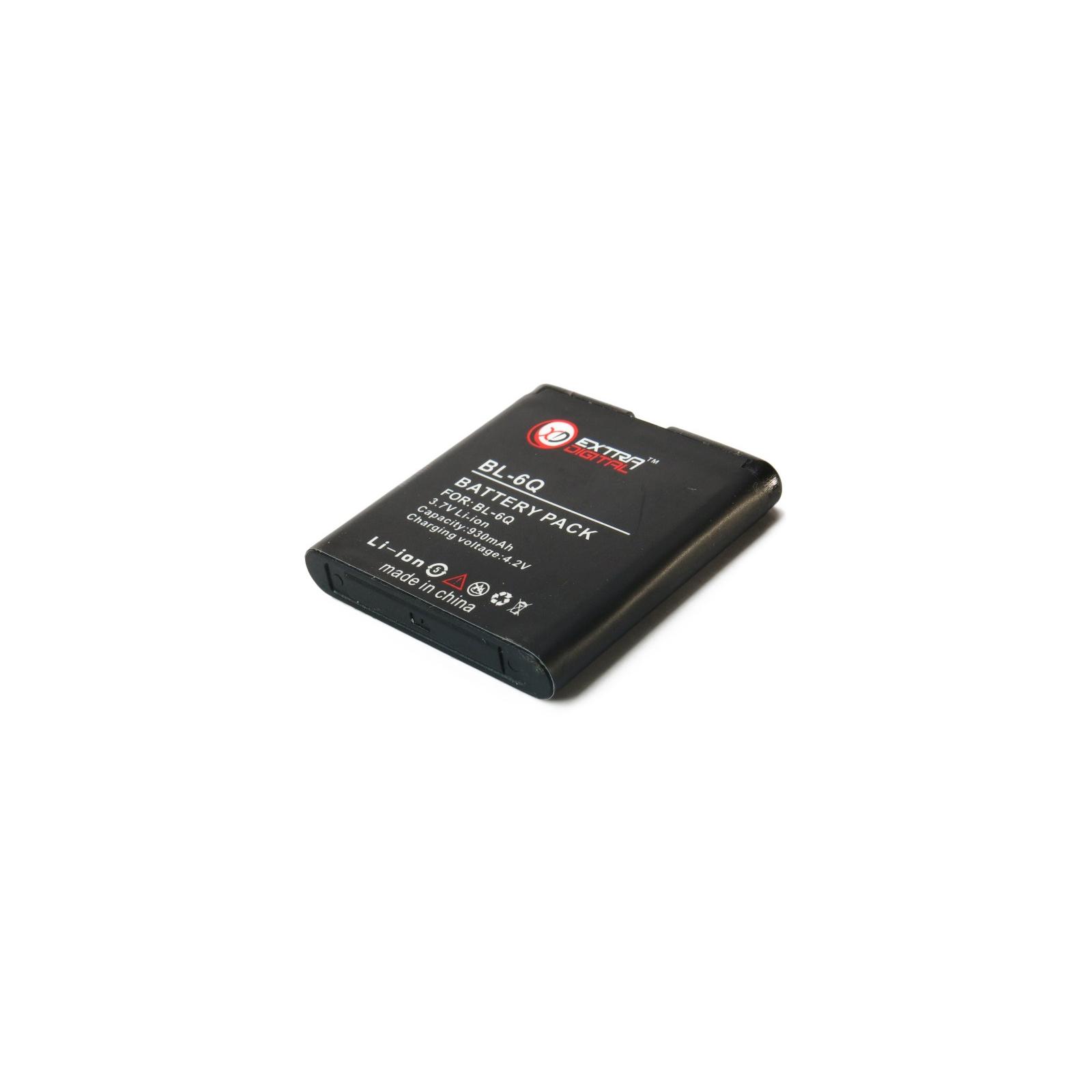 Аккумуляторная батарея EXTRADIGITAL Nokia BL-6Q (DV00DV6034) изображение 5