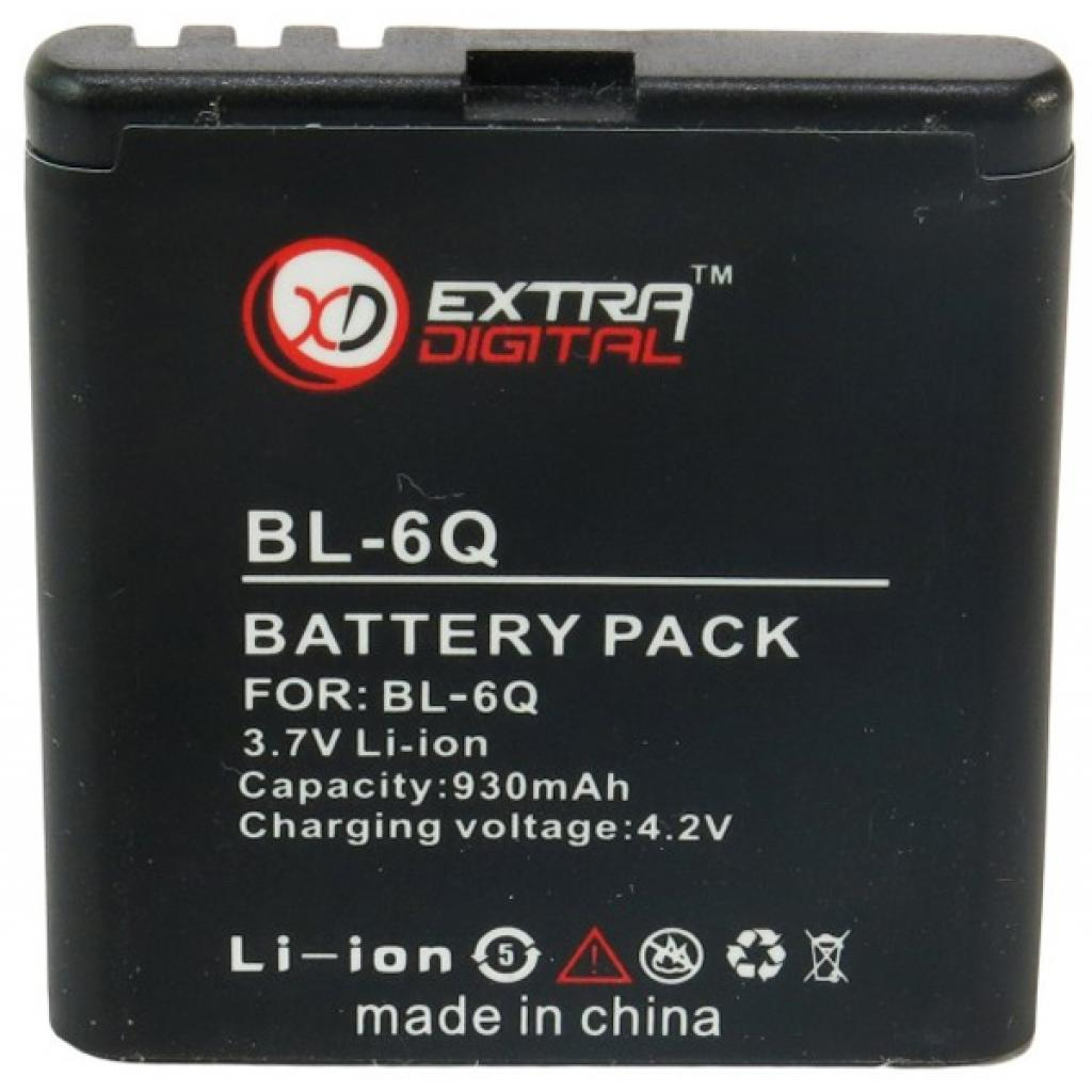 Аккумуляторная батарея EXTRADIGITAL Nokia BL-6Q (DV00DV6034)