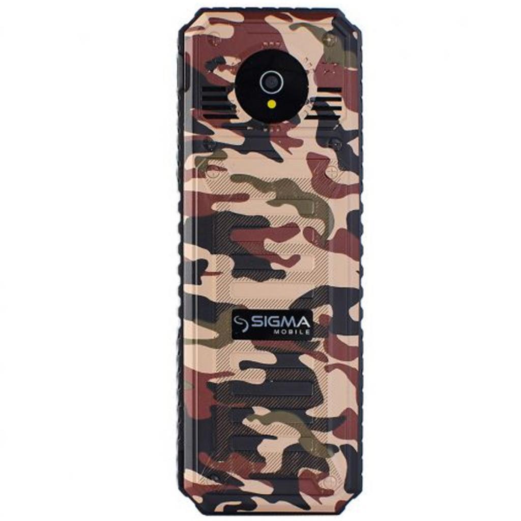 Мобильный телефон Sigma X-style 11 Dual Sim Coffee Camouflage (4827798327234) изображение 2