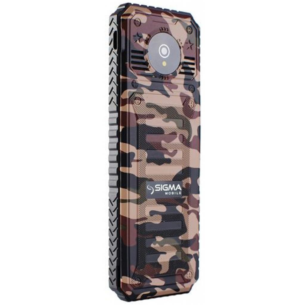 Мобильный телефон Sigma X-style 11 Dual Sim Coffee Camouflage (4827798327234) изображение 3